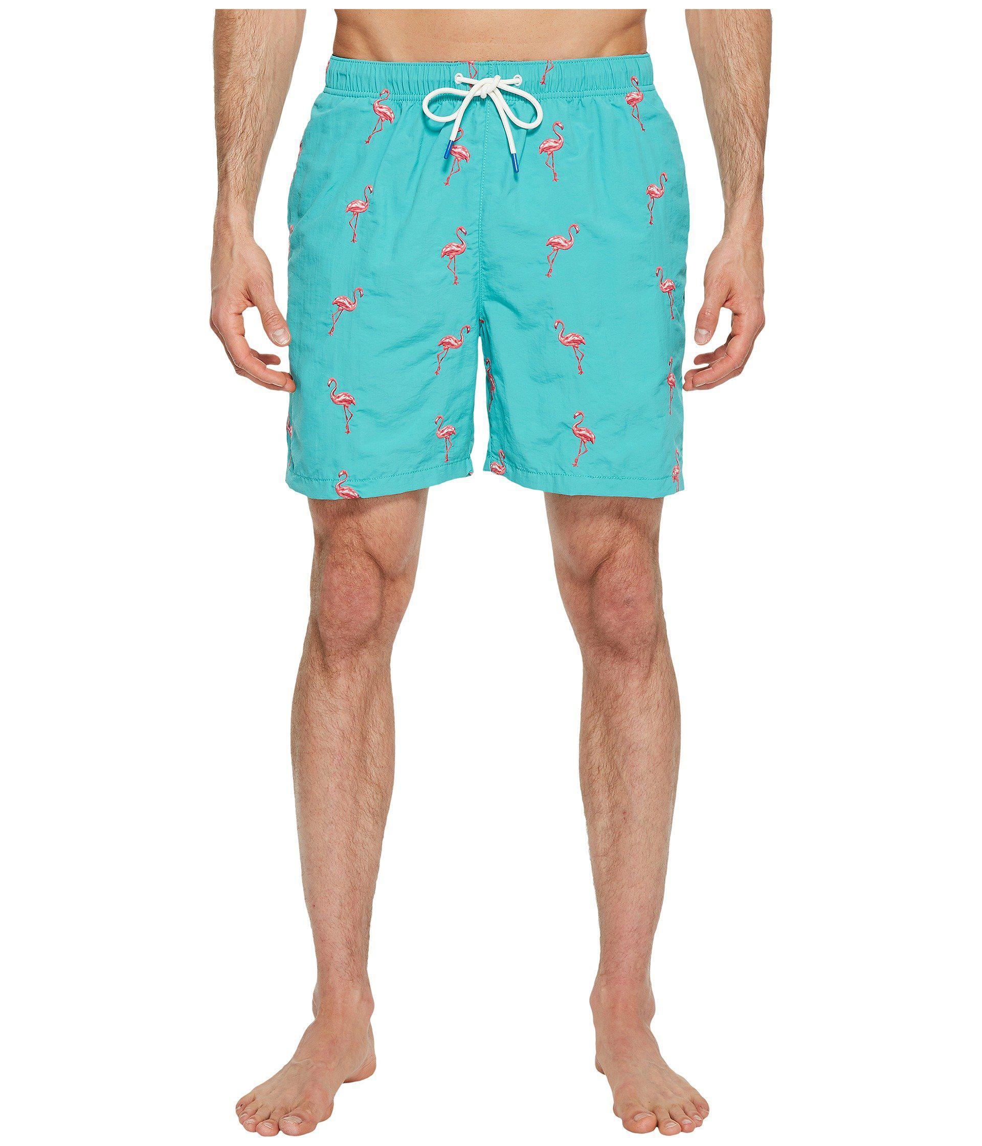 2789f89f03 Tommy Bahama Naples Flamingo Coast Swim Trunk (castaway Green) Men's ...