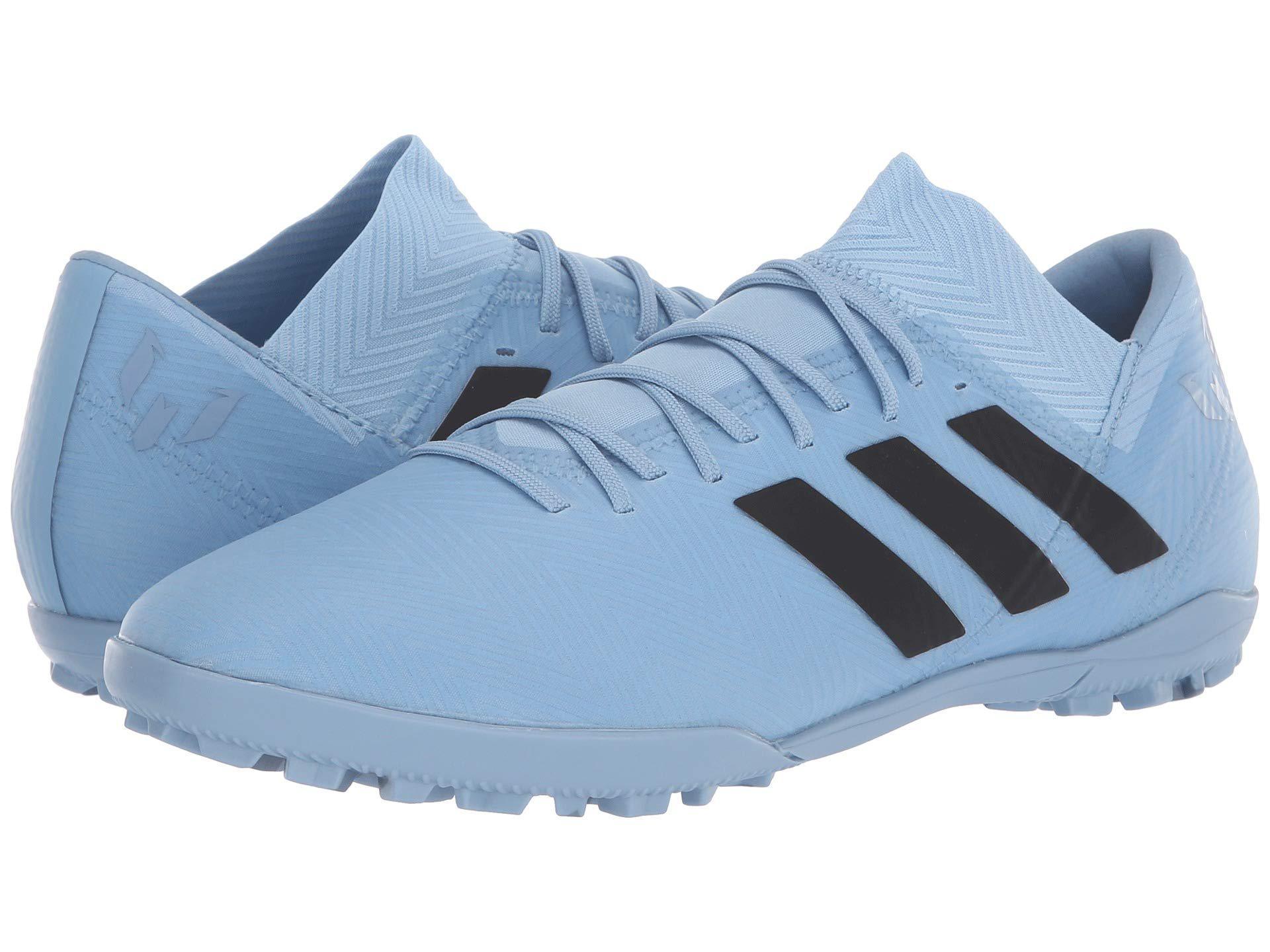 0eae9cb20d50 adidas Nemeziz Messi Tango 18.3 Tf (ash Blue/black/raw Grey) Men's ...