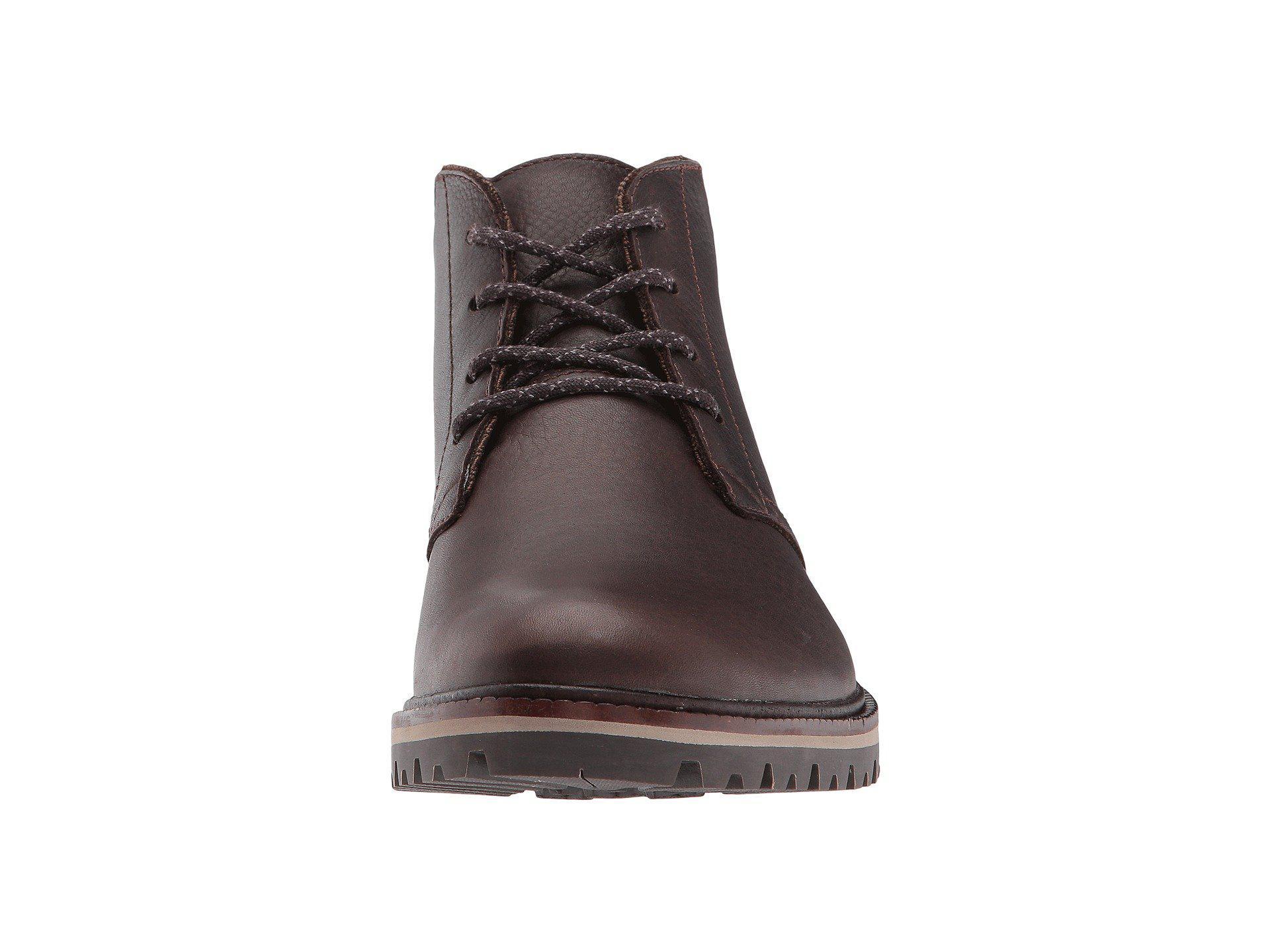 eeb41dd3d6b07b Lyst - Lacoste Montbard Chukka 417 1 Cam (dark Brown) Men s Shoes in ...