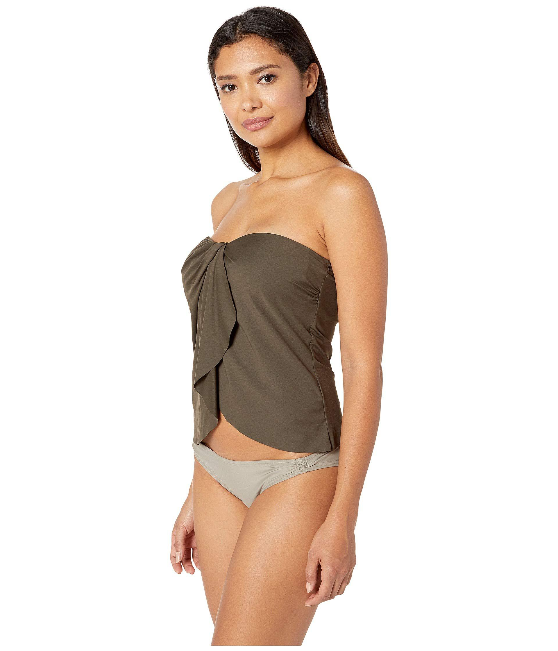 8b4963e43f9 Lyst - Vince Camuto Surf Shades Draped Bandini Top (koi) Women's Swimwear