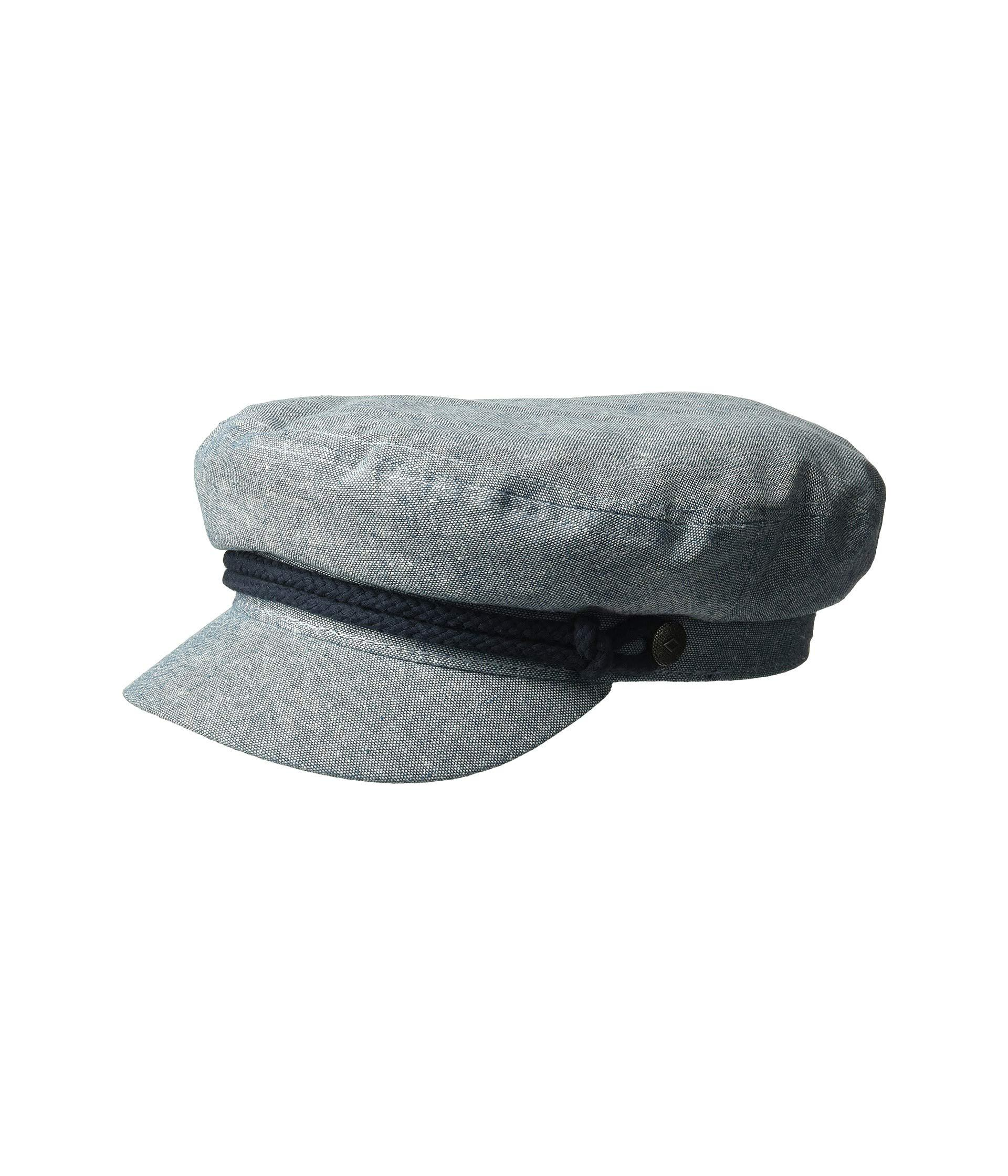 Lyst - Brixton Fiddler (black Herringbone Twill) Traditional Hats in ... 3d4a6fe40c11