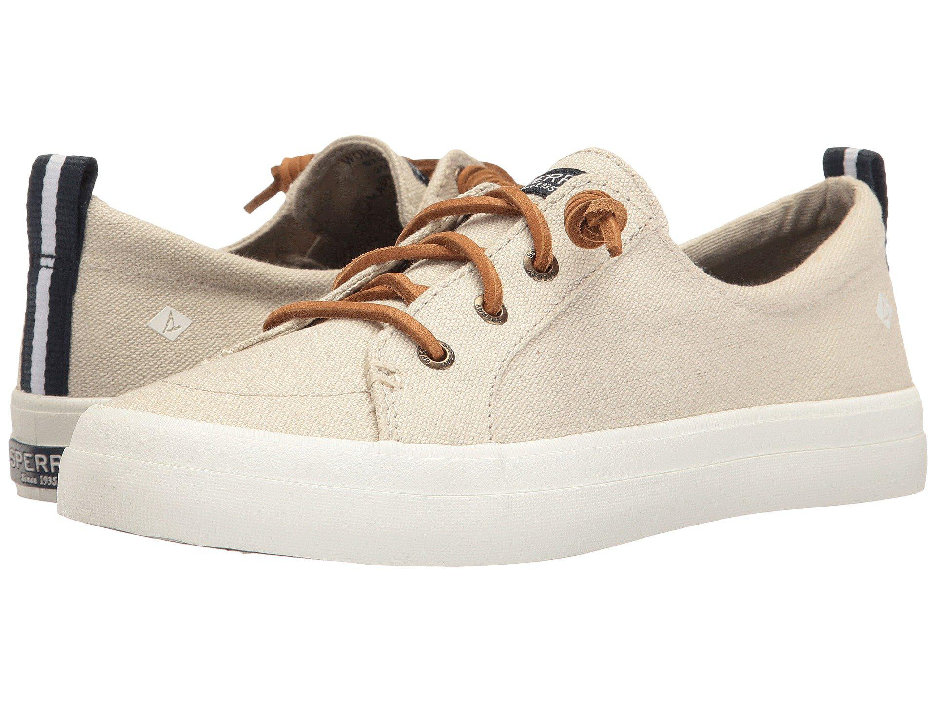 Crest Vibe Washed Linen Sperry X5T8kdg