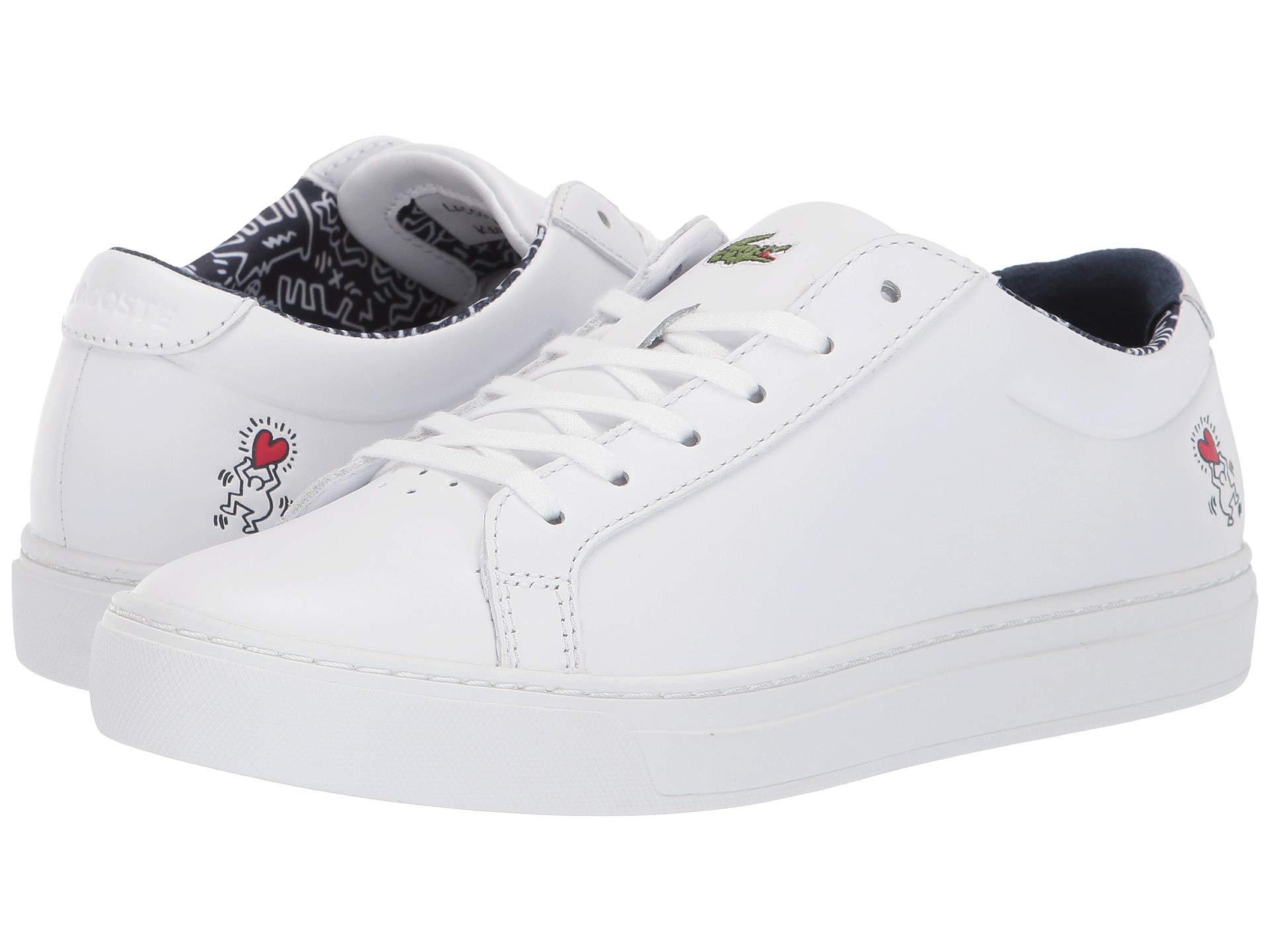 719e2e63c8bad Women's White L.12.12 119 1 Keith Haring Cfa