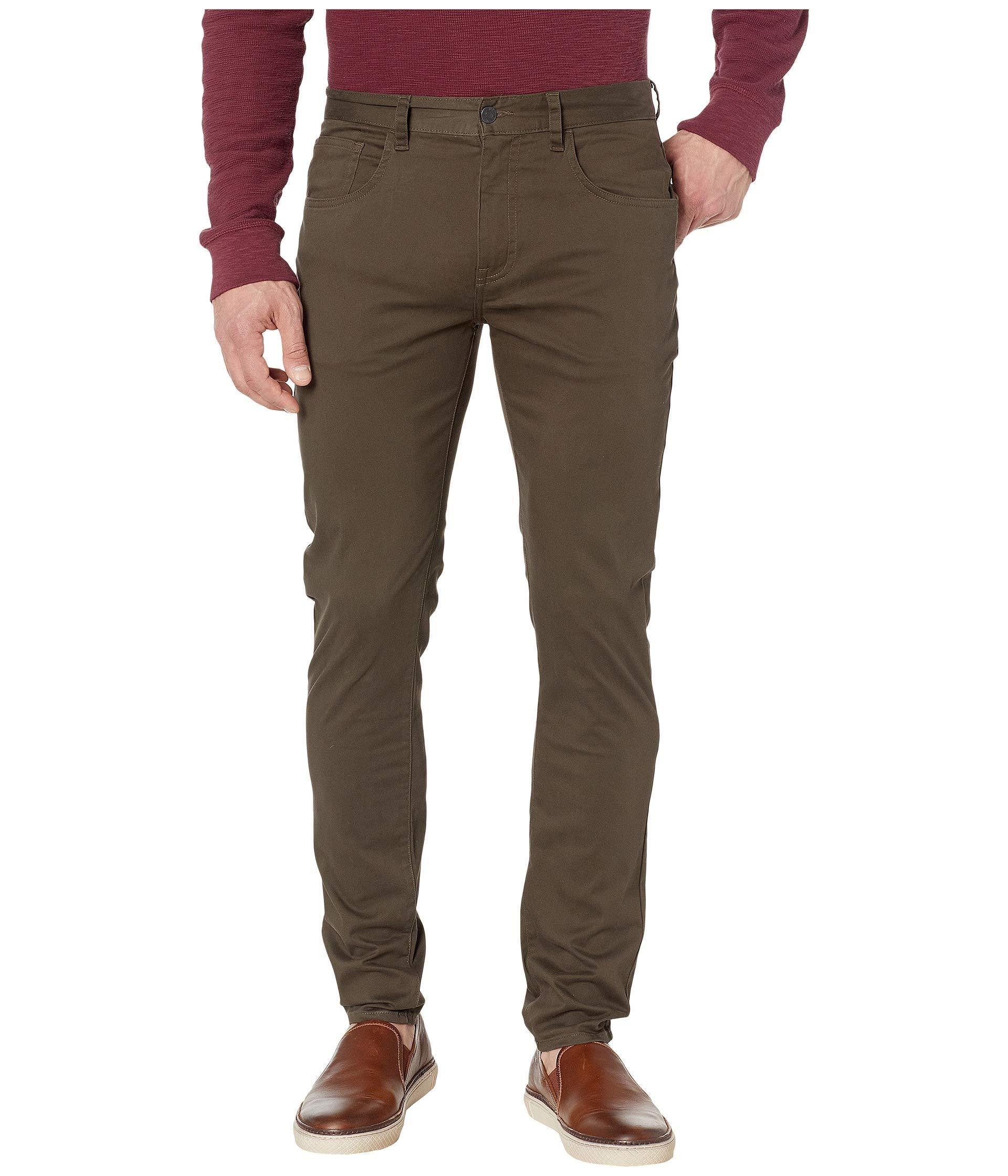 Ben Sherman Mens Five-Pocket Chino Pant
