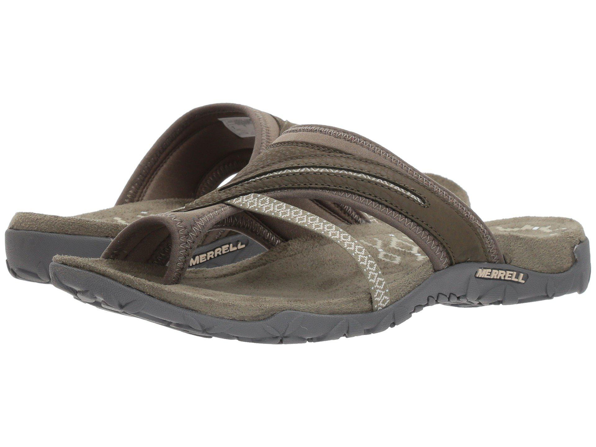 0d1d77b9d9fd Merrell - Multicolor Terran Post Ii (dusty Olive) Women s Shoes - Lyst.  View fullscreen
