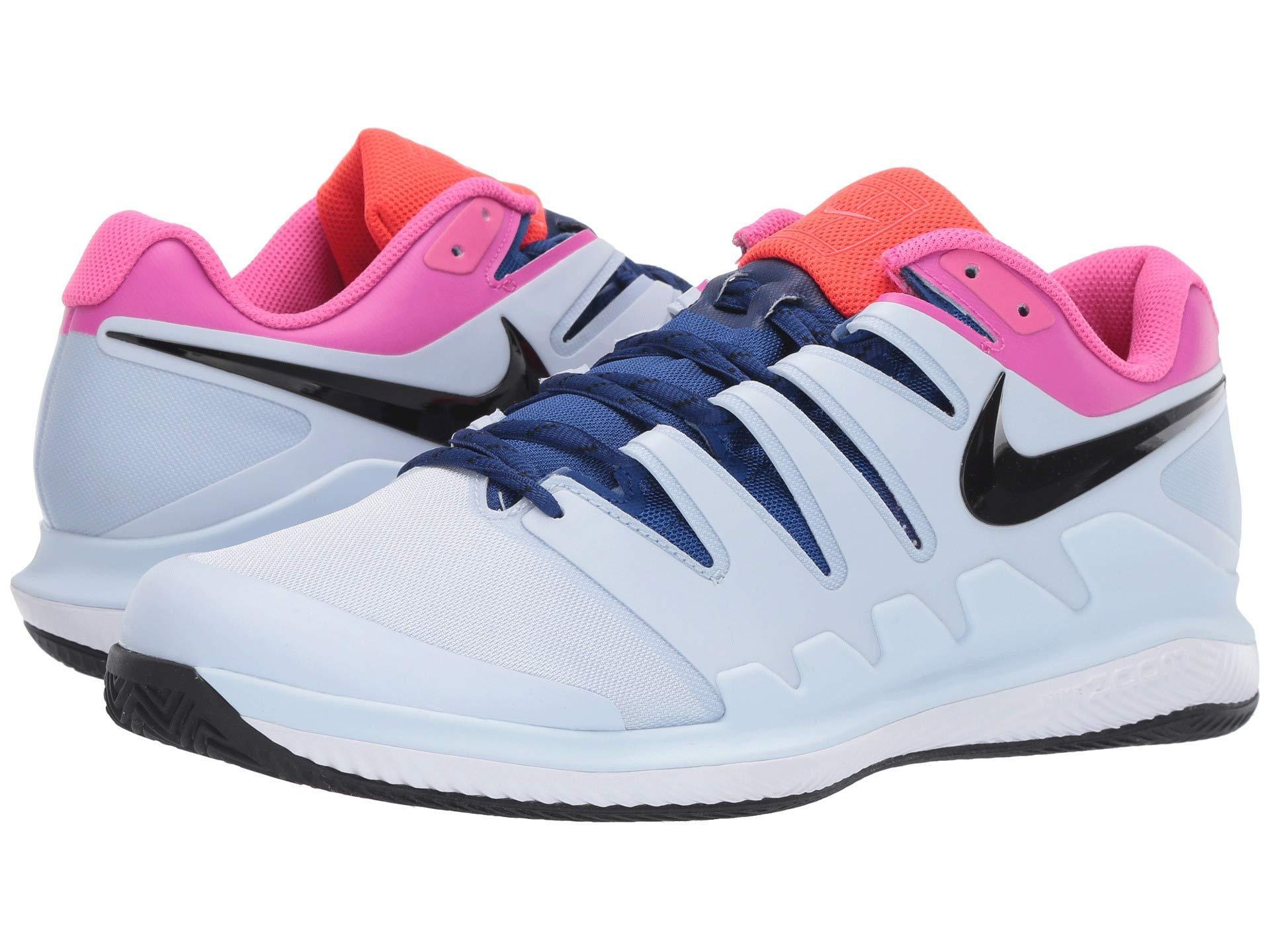 Nike Air Zoom Vapor X Clay Tennis Shoe in Blue for Men - Lyst