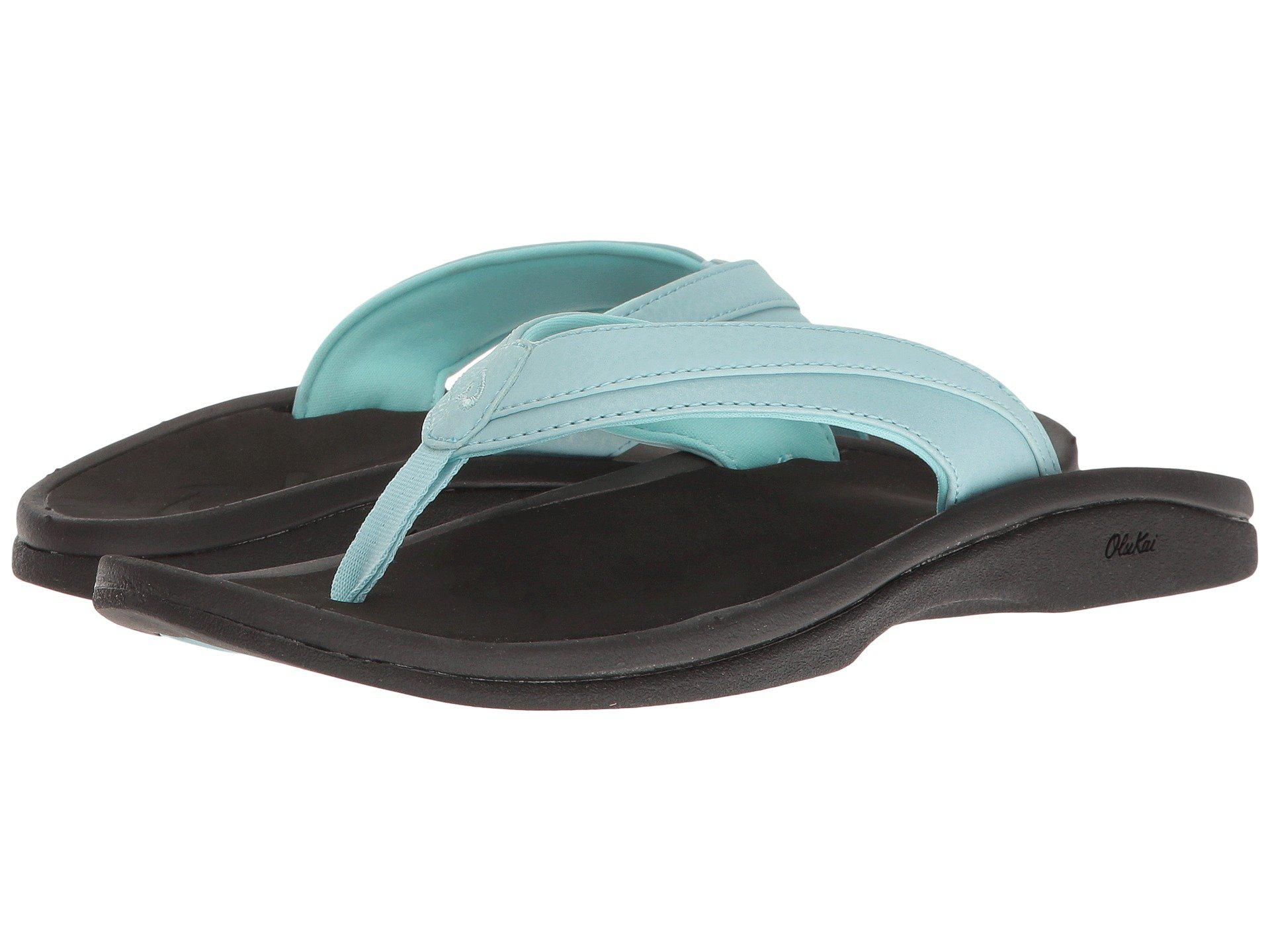 036d2bfe215 Lyst - Olukai Ohana W (blueberry black) Women s Sandals in Black