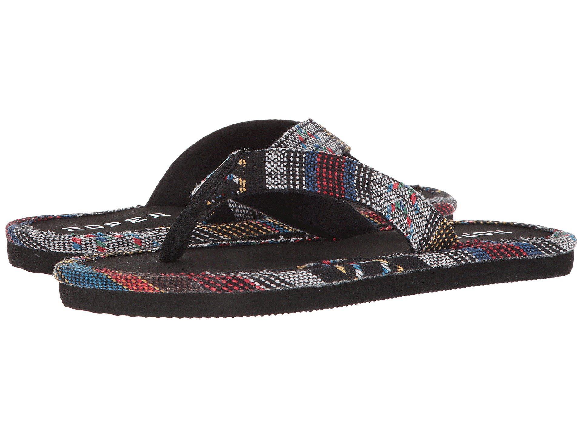 d0da6807963a0 Lyst - Roper Ella (brown) Women s Sandals in Black