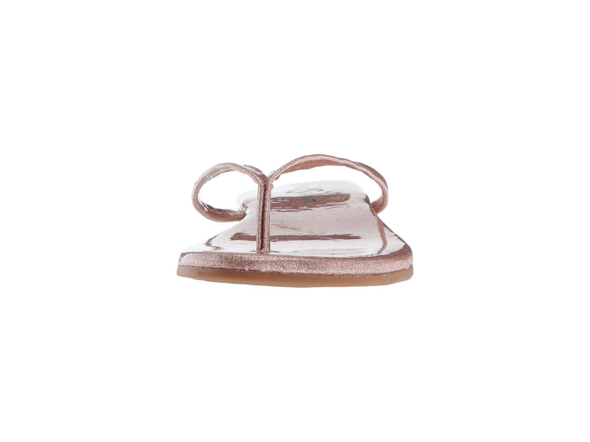 fe02b9edc8f2 Lyst - Yosi Samra Rivington (rose Gold Patent Glitter) Women s Shoes ...