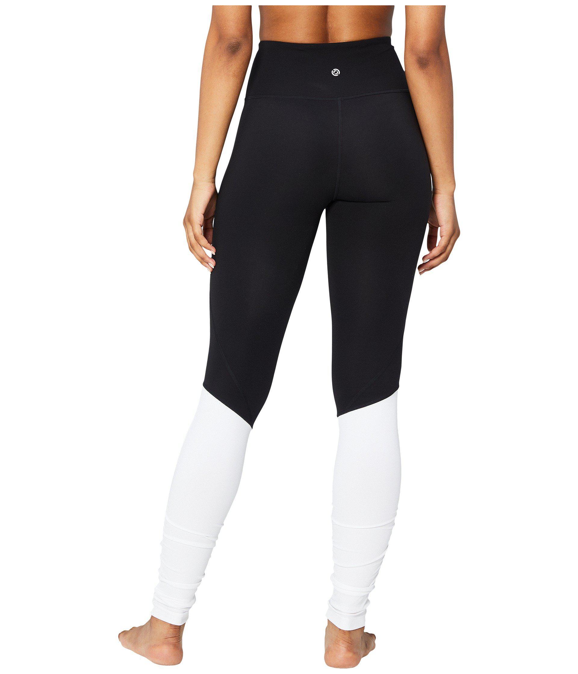 8f434c762ec003 Core 10 Icon Series - The Ballerina Yoga Leggings (black/white ...