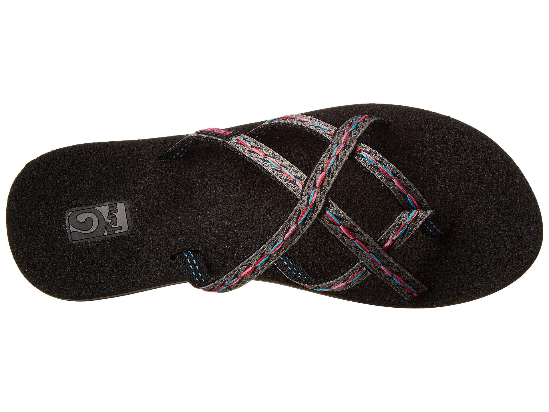 a644004227e014 Lyst - Teva Olowahu 2-pack (mibob felicitas Black) Women s Sandals ...