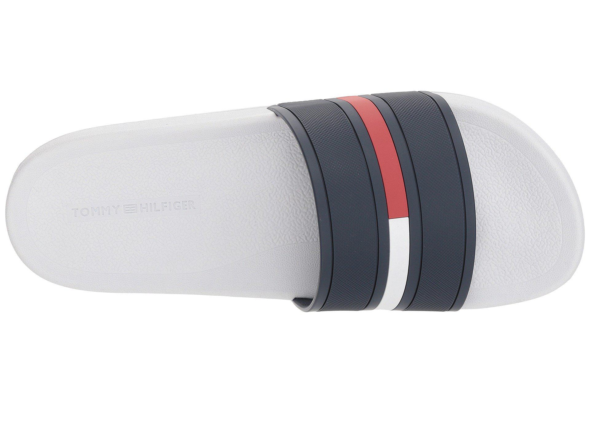 09cb39533 Tommy Hilfiger - Multicolor Ennis (white Multi) Men s Slide Shoes for Men -  Lyst. View fullscreen