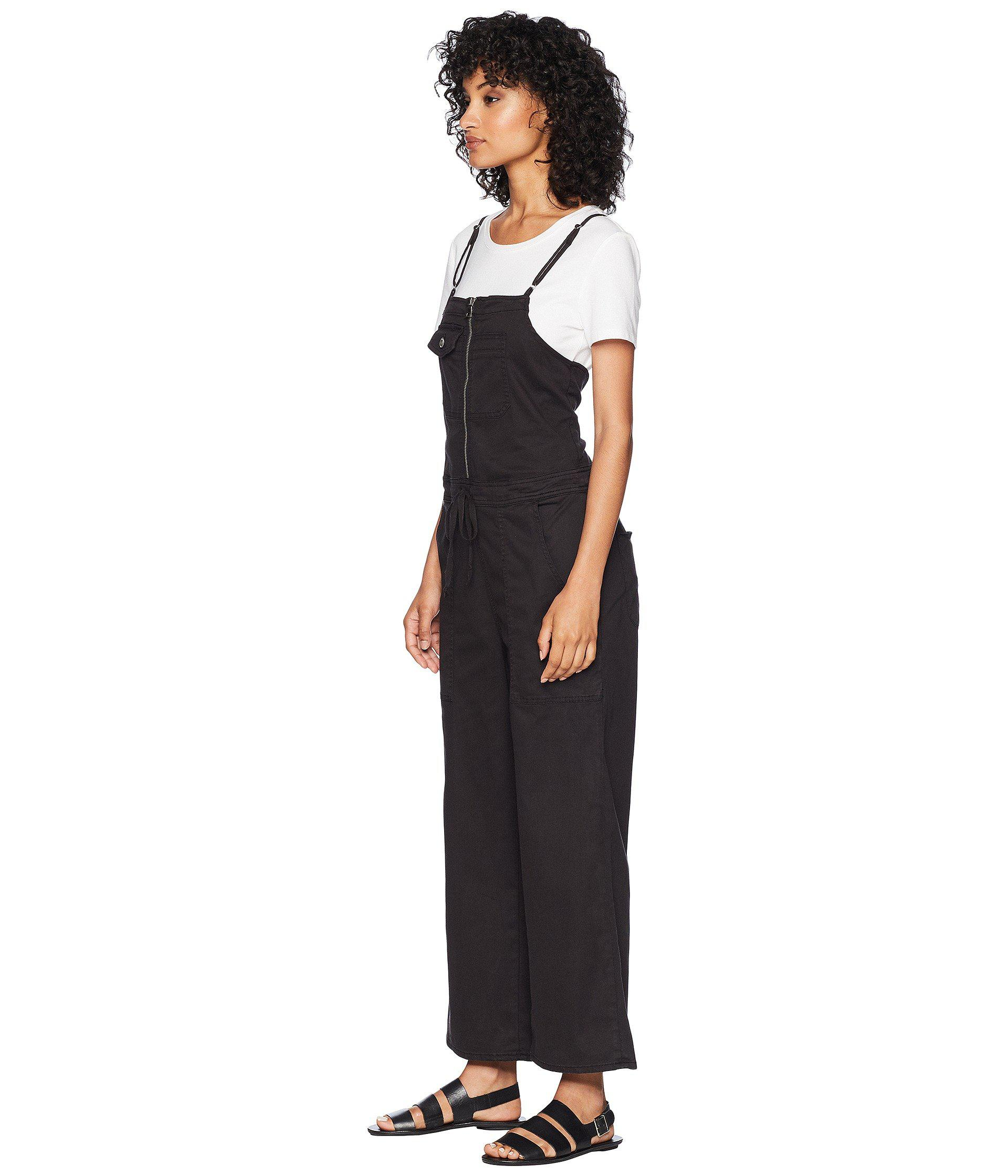 Hudson Womens The Leverage Jumpsuit in Black
