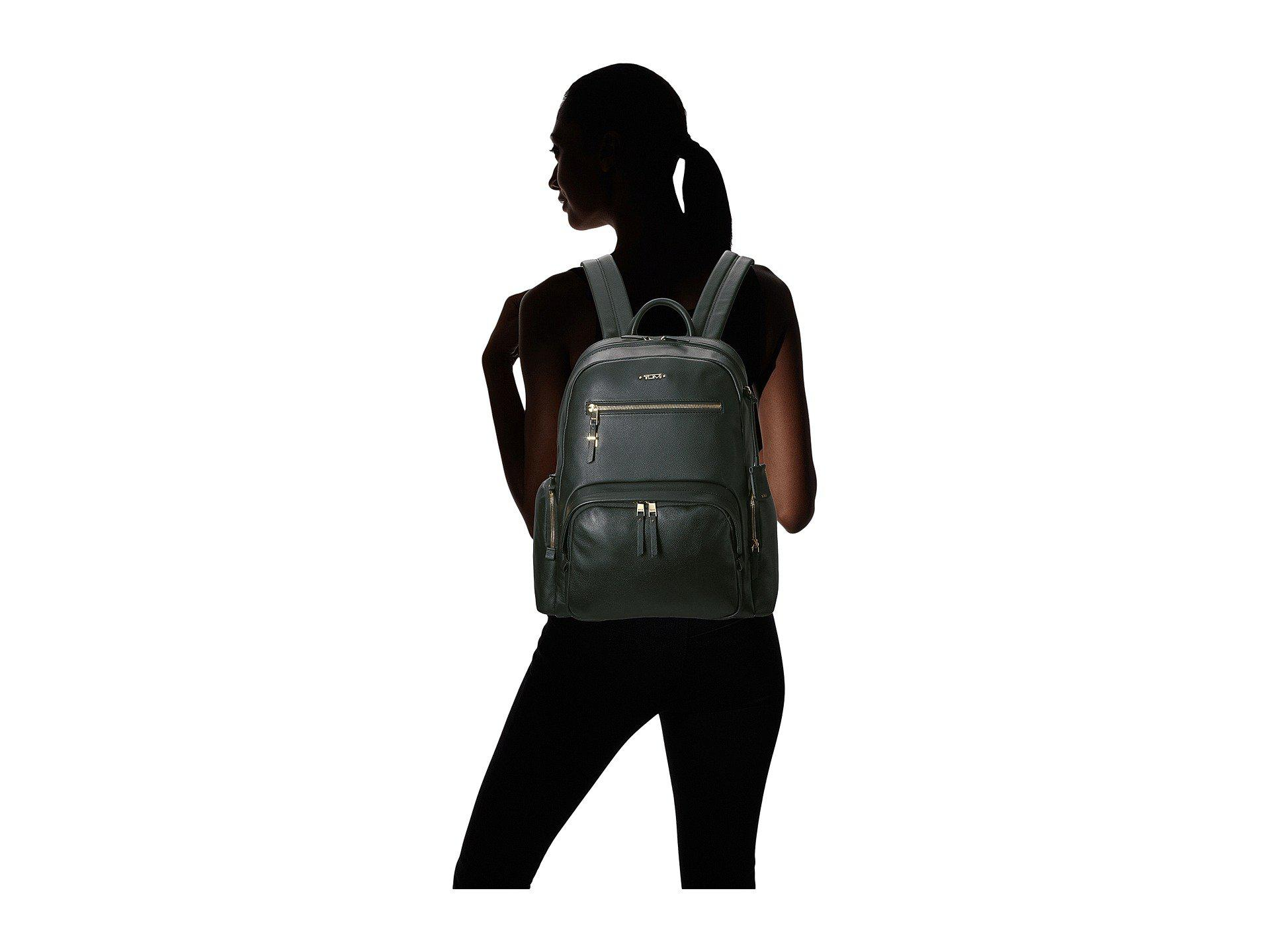 cdd820cb21e Women's Black Carson Leather Backpack