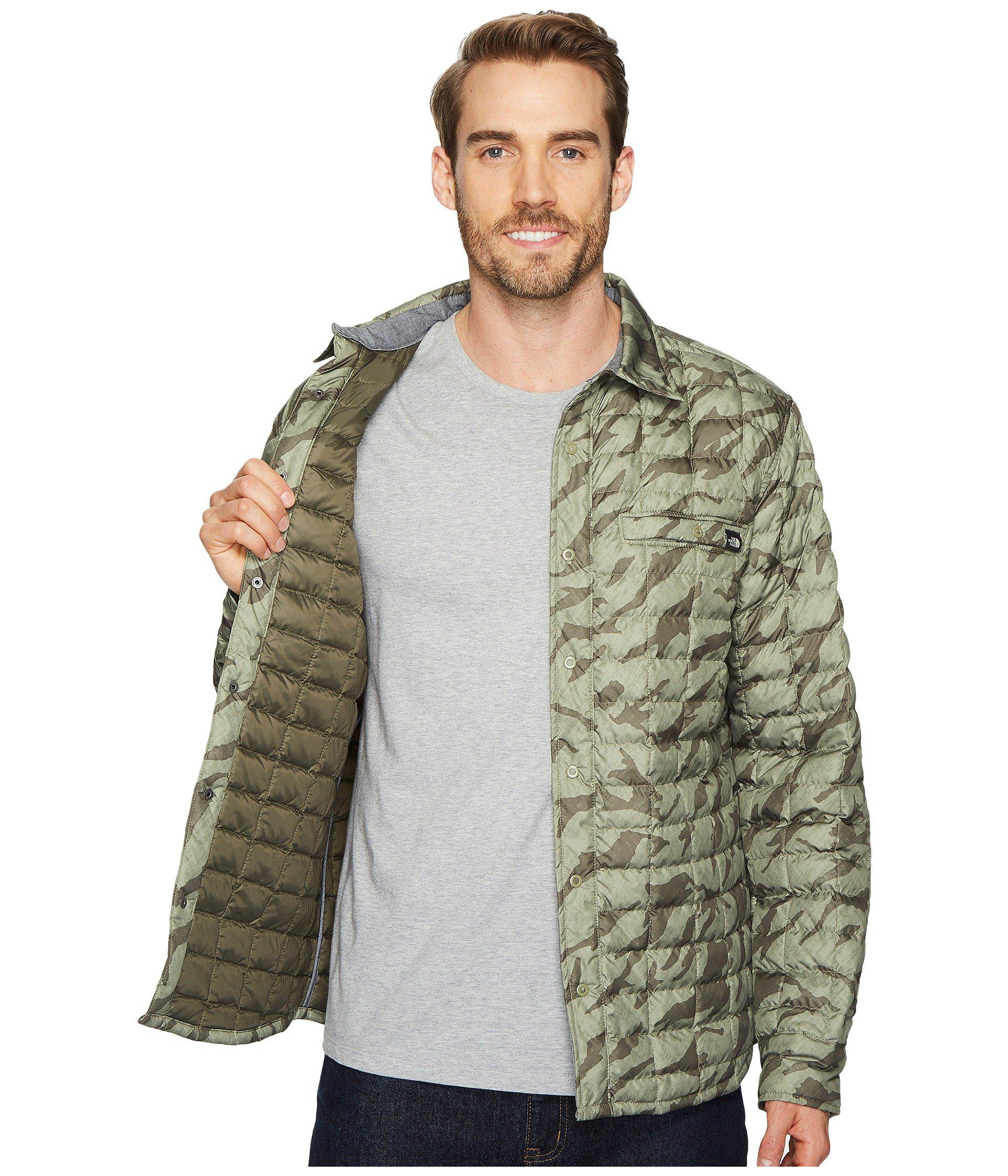 52173bb2a Men's Green Reyes Thermoball Shirt Jacket