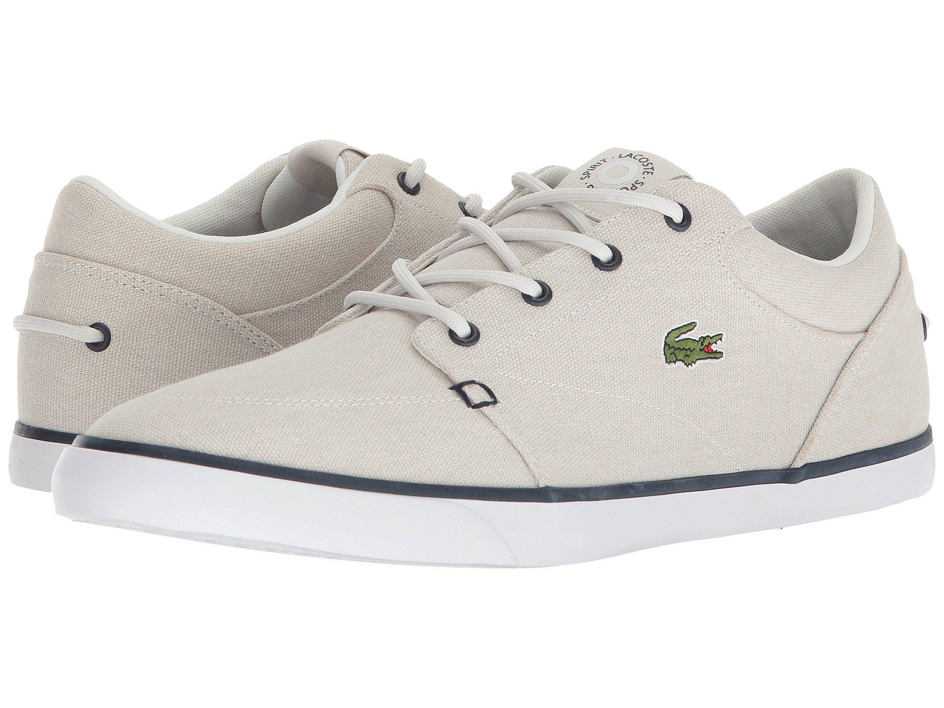 4873ef70b Lyst - Lacoste Bayliss 118 3 (navy light Blue) Men s Shoes in White ...