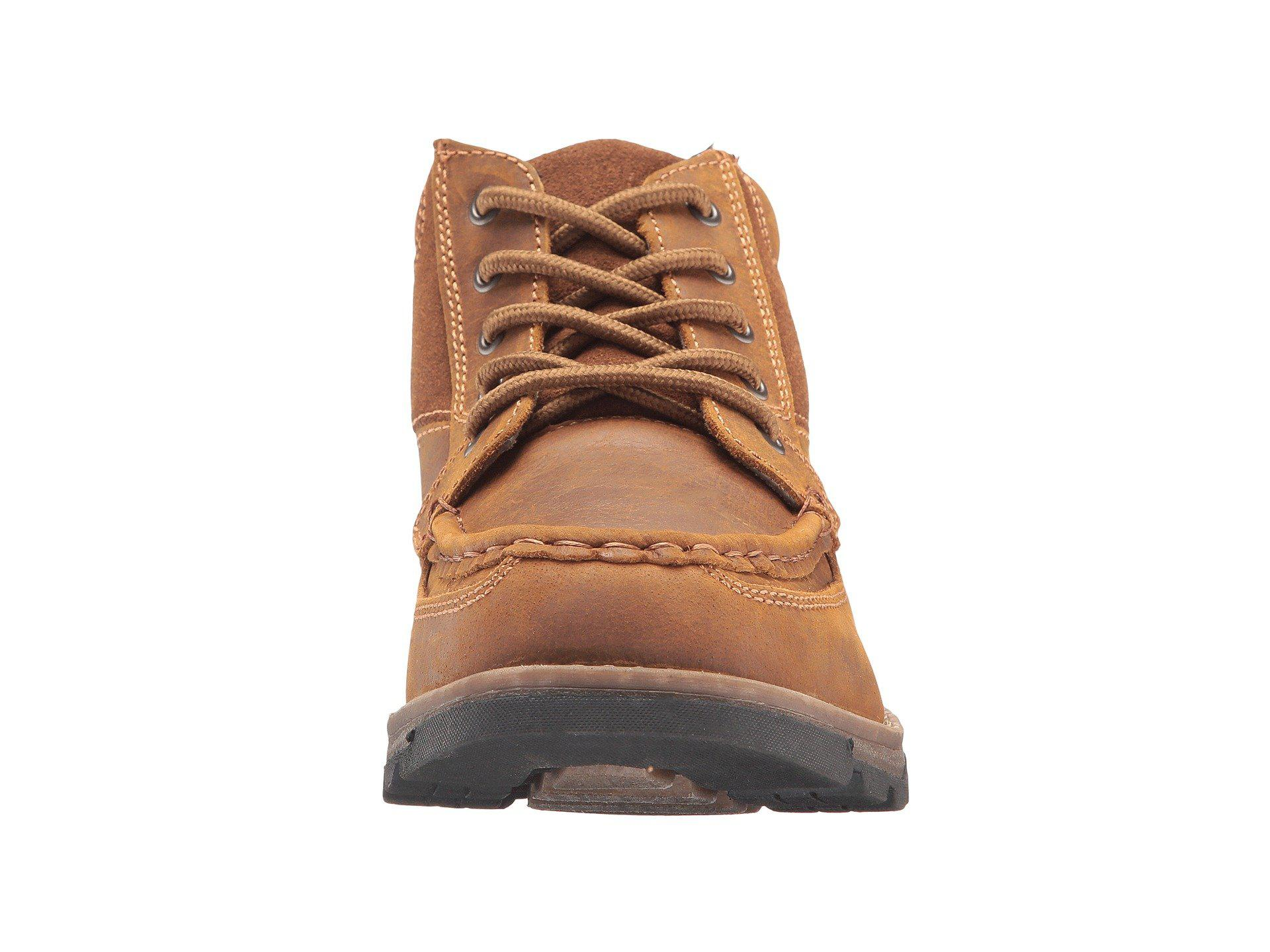 Nunn Bush Leather Pershing Boot All Terrain Comfort Camel
