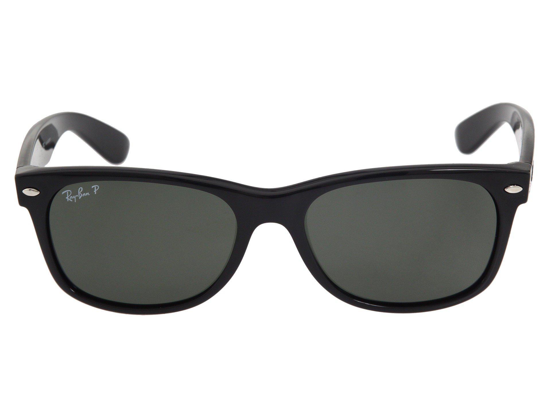 c0a6f54a8c2 Ray-Ban - Black Rb2132 New Wayfarer Polarized 55mm (tortoise crystal Green  Polarized. View fullscreen
