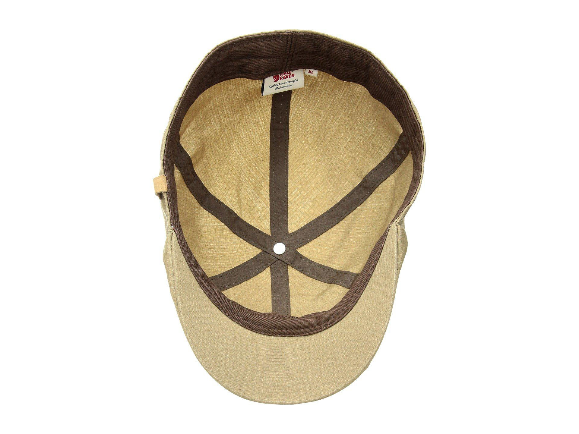 1b763e79857d8 Fjallraven Ovik Flat Cap (sand) Caps for Men - Lyst
