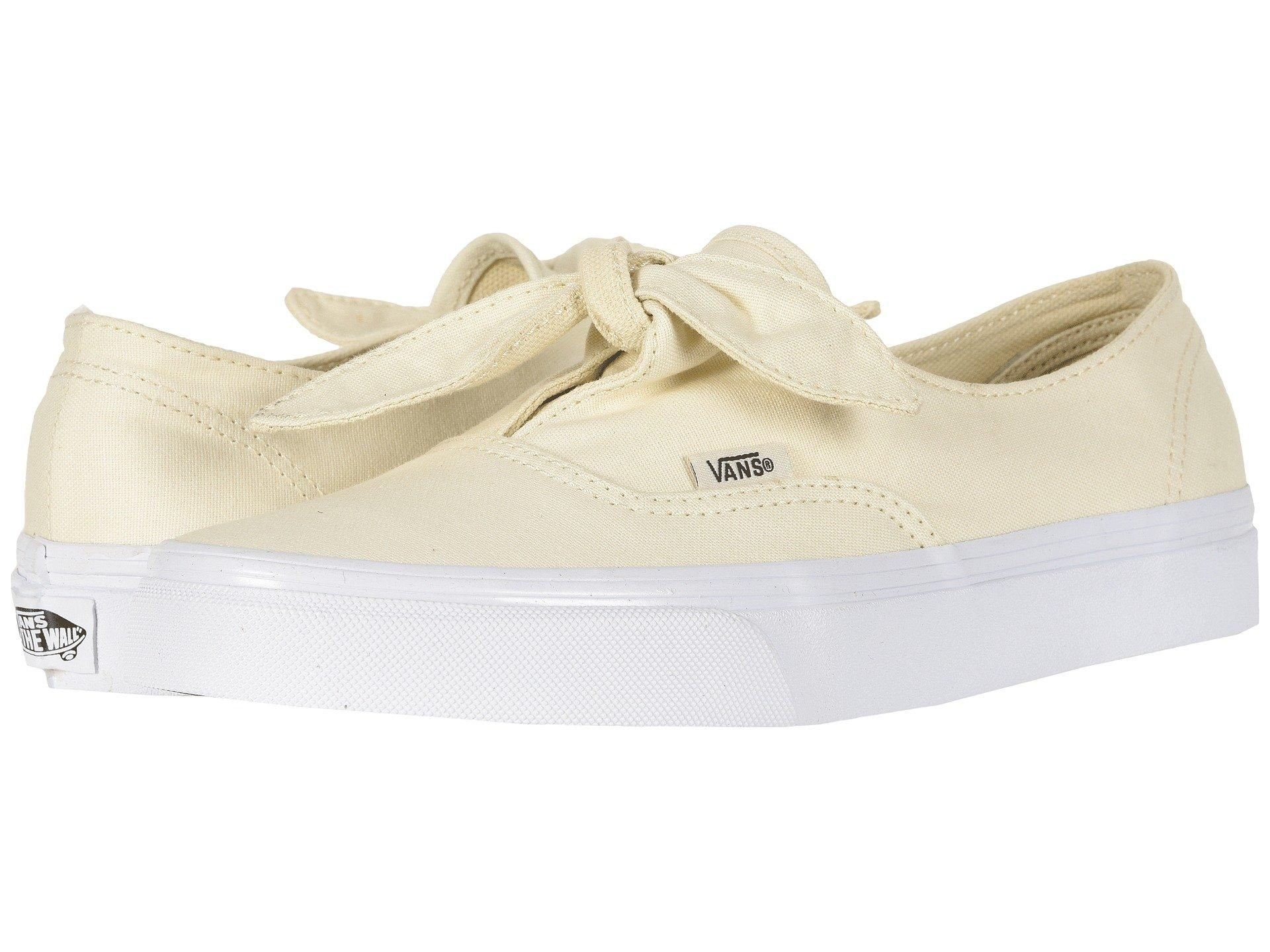 Vans Canvas Authentic Knotted in Beige (Natural) - Lyst