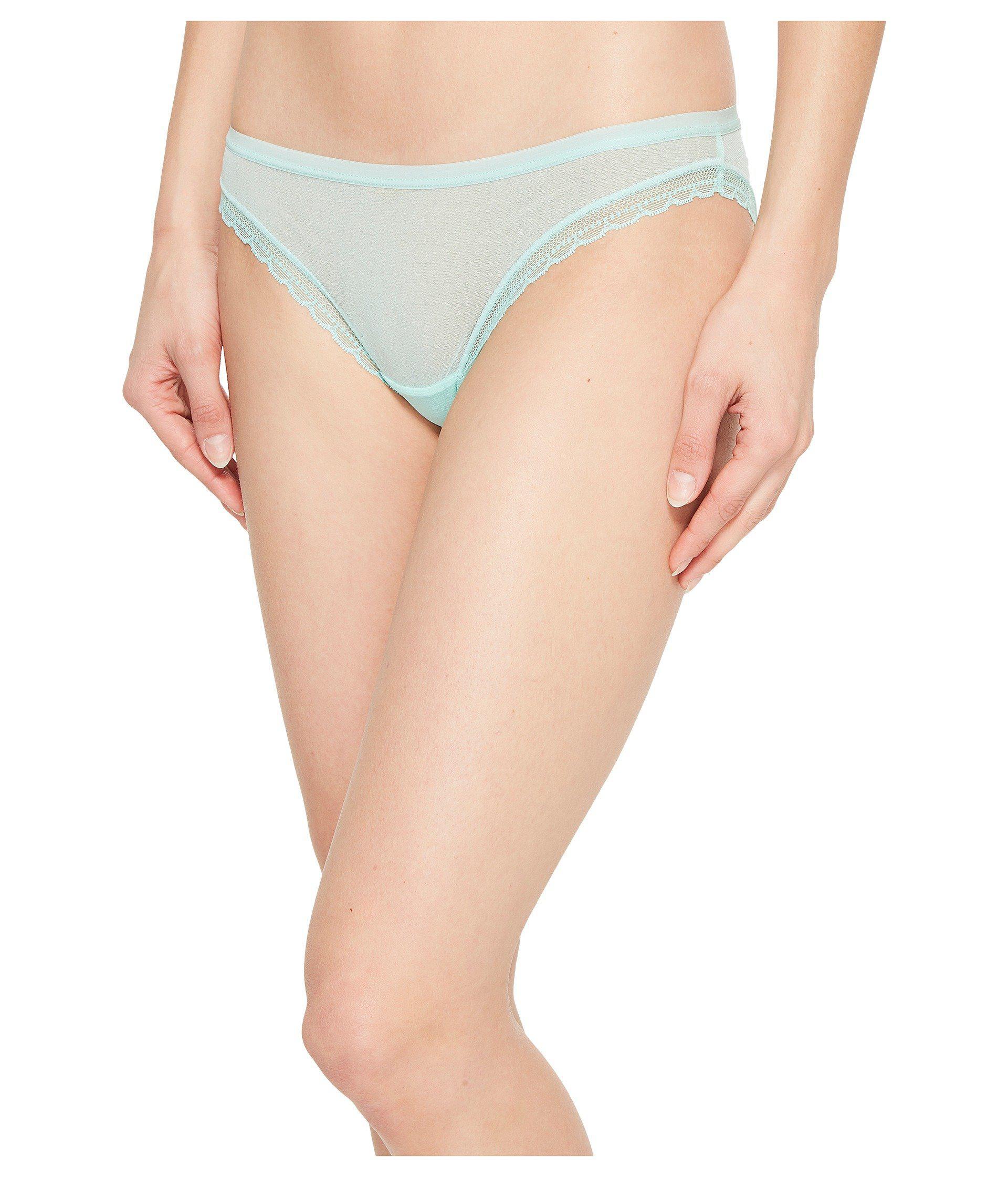 72a3683490e2 Lyst - On Gossamer Next To Nothing Hip Bikini G1110 (mocha) Women's ...