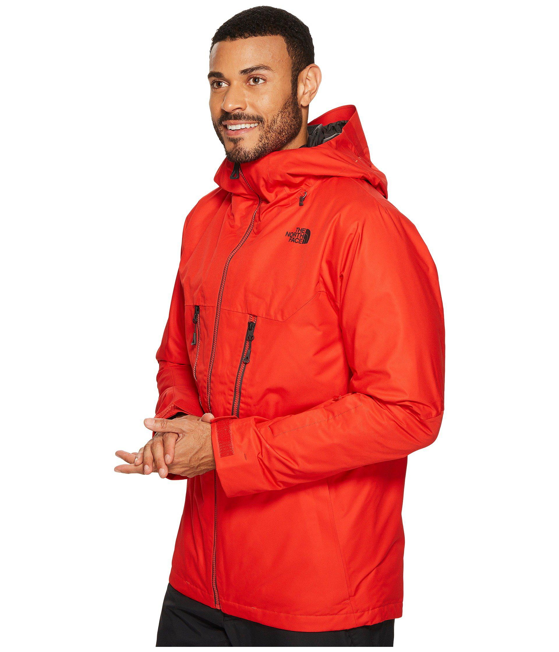 5e96c5187 Men's Red Thermoball Snow Triclimate Jacket