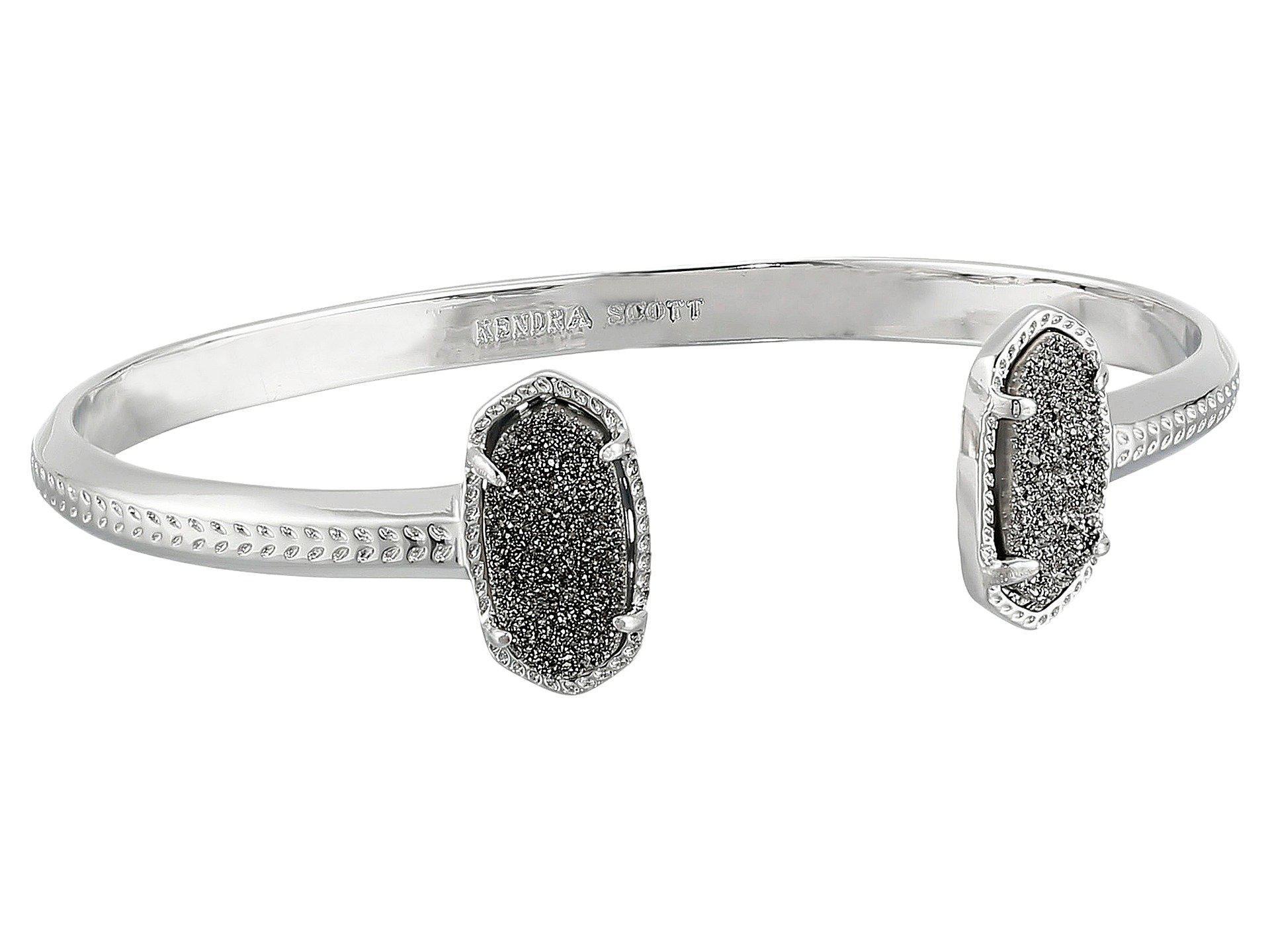 Lyst Kendra Scott Elton Bracelet In Metallic