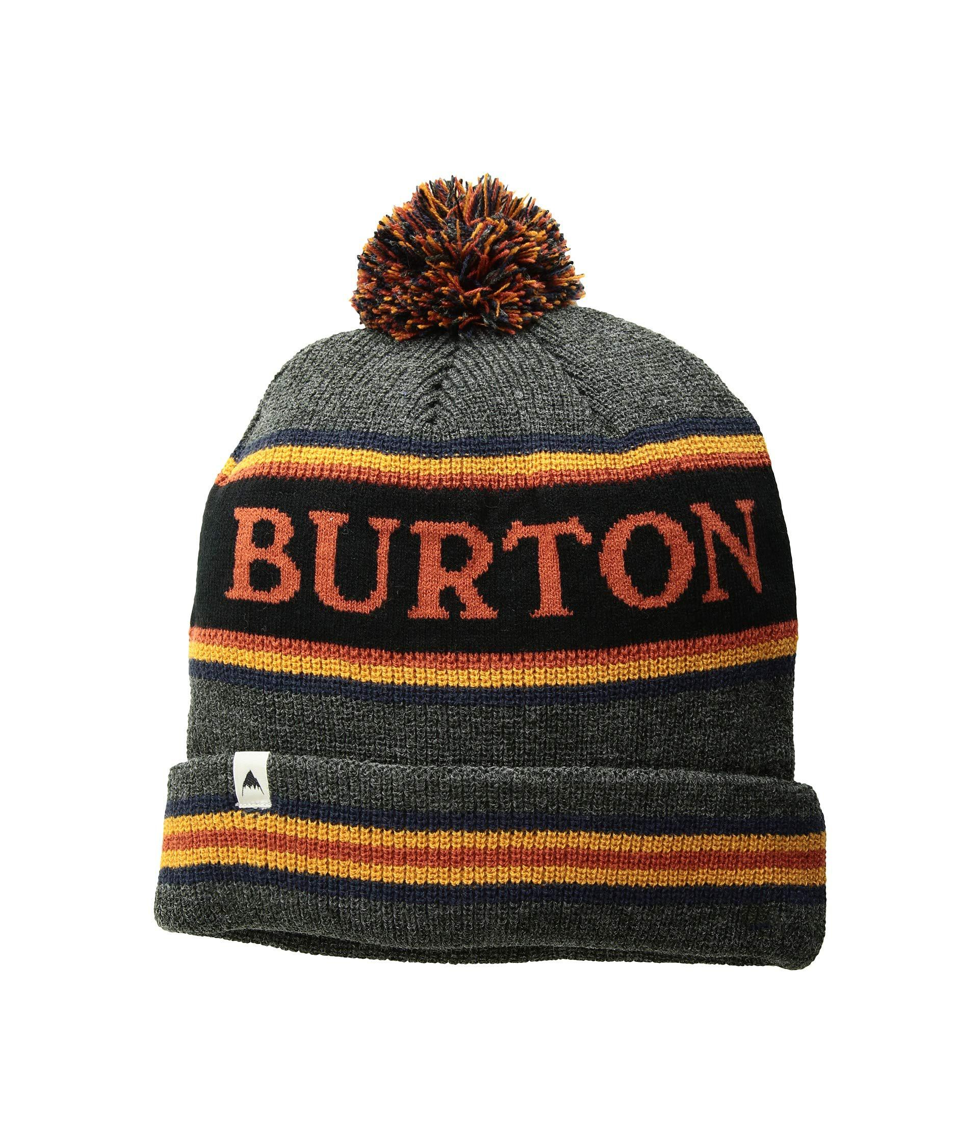 eb43c825908 Lyst - Burton Trope Beanie (true Black Sunset) Beanies for Men