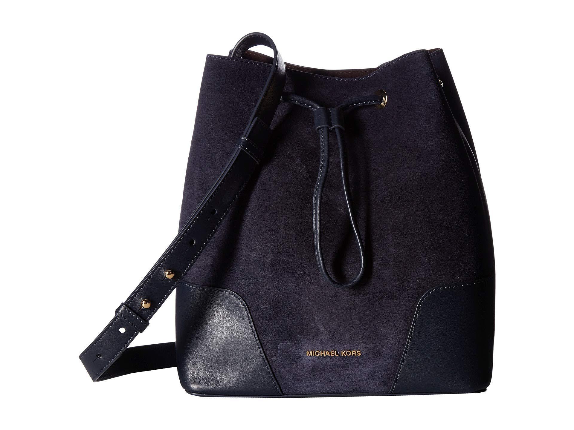 fbff06f42808 Lyst - MICHAEL Michael Kors Cary Medium Bucket Bag (admiral) Bags in ...