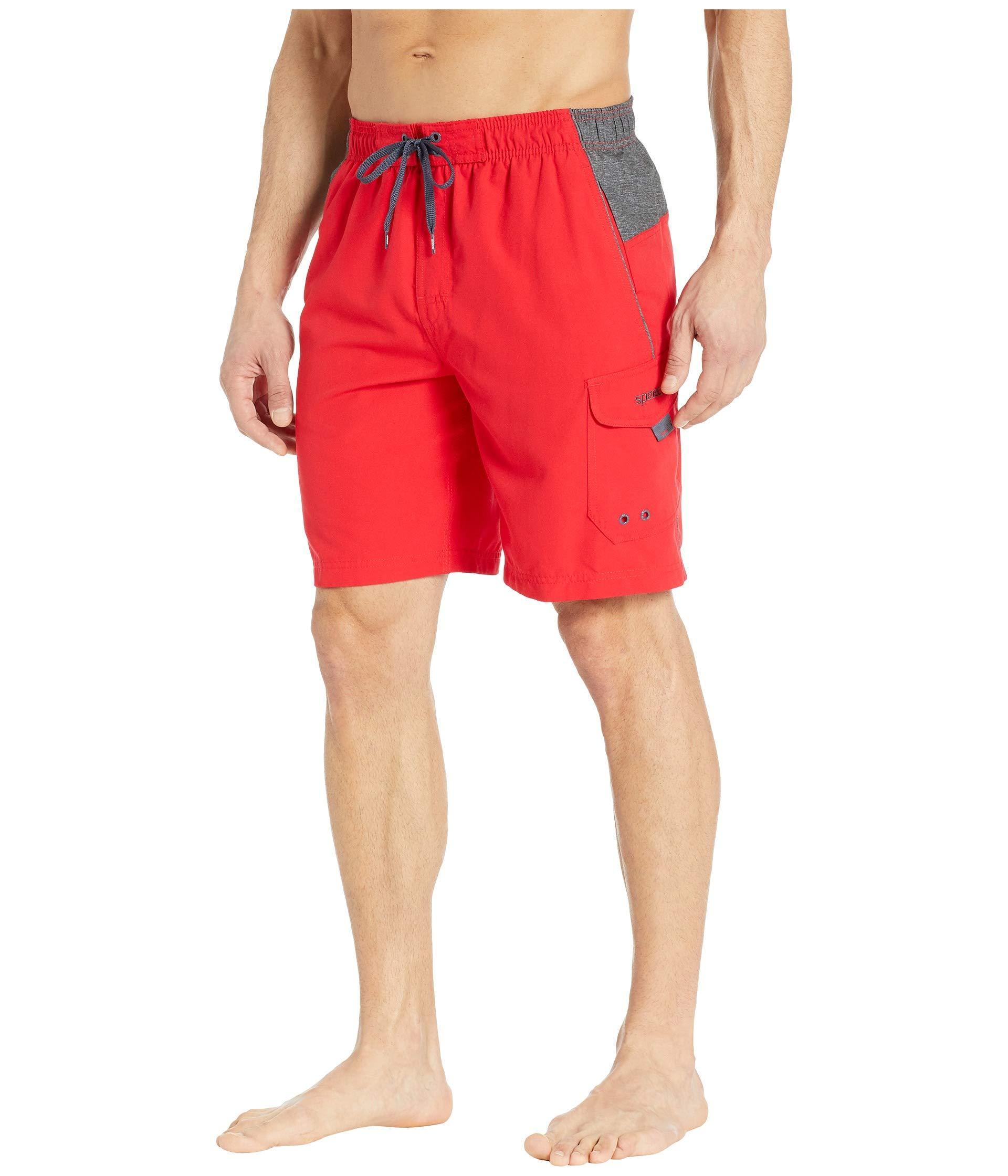cadad10bae Lyst - Speedo Sport Volley ( Navy) Men's Swimwear in Red for Men