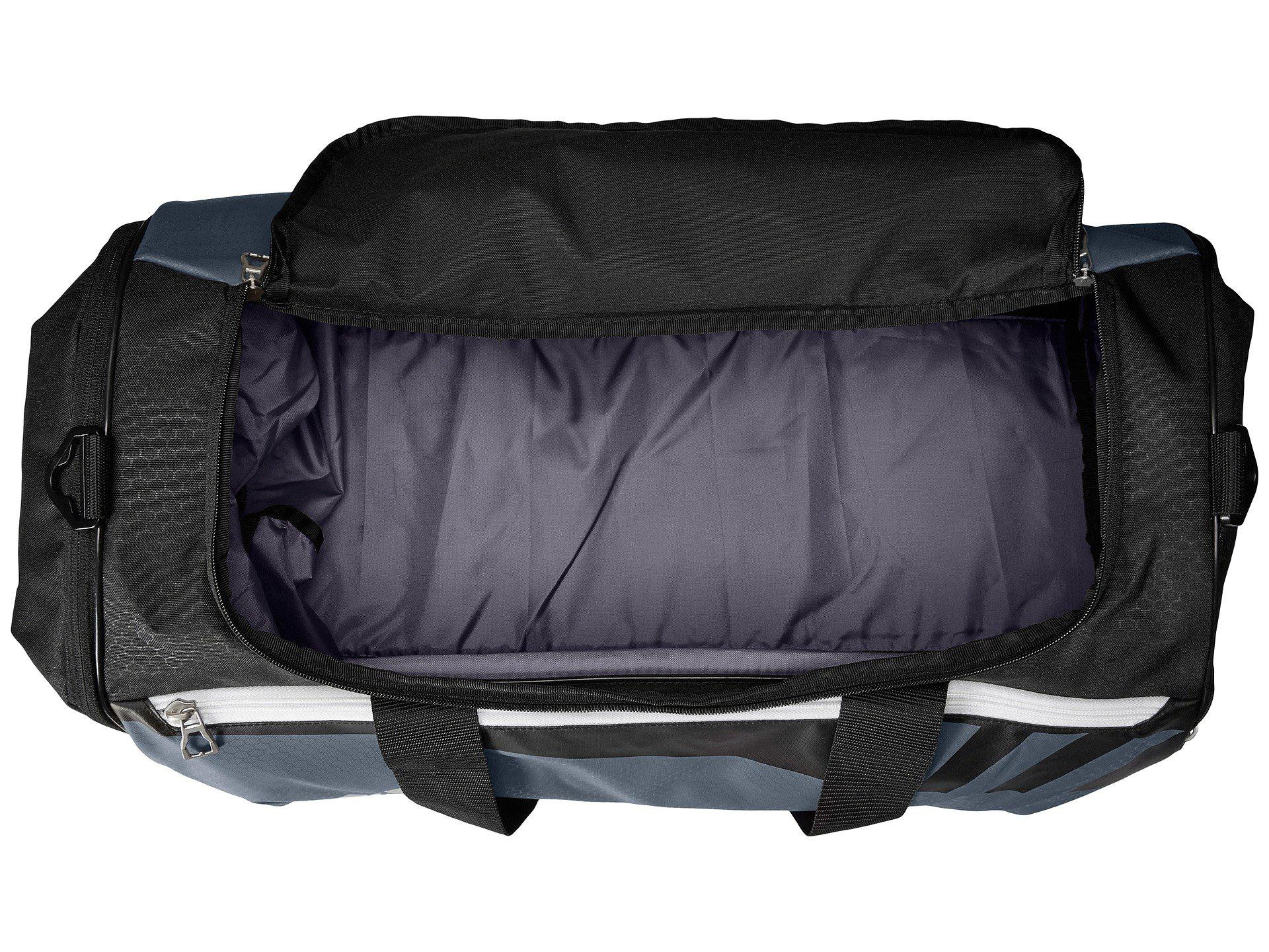 3556e9c2d2 Lyst - Adidas Team Issue Medium Duffel (black silver) Duffel Bags in ...