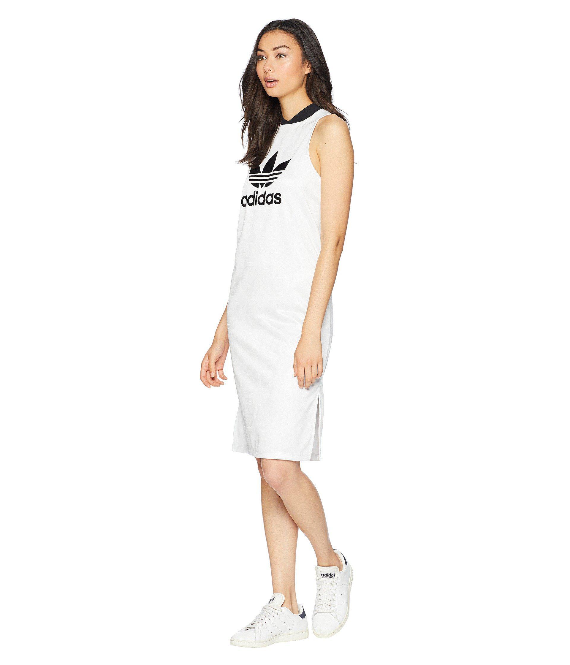 Lyst Adidas Originals League League Jacquard Adidas Tank Dress Dress League (vintage 44c91fe - rigevidogenerati.website
