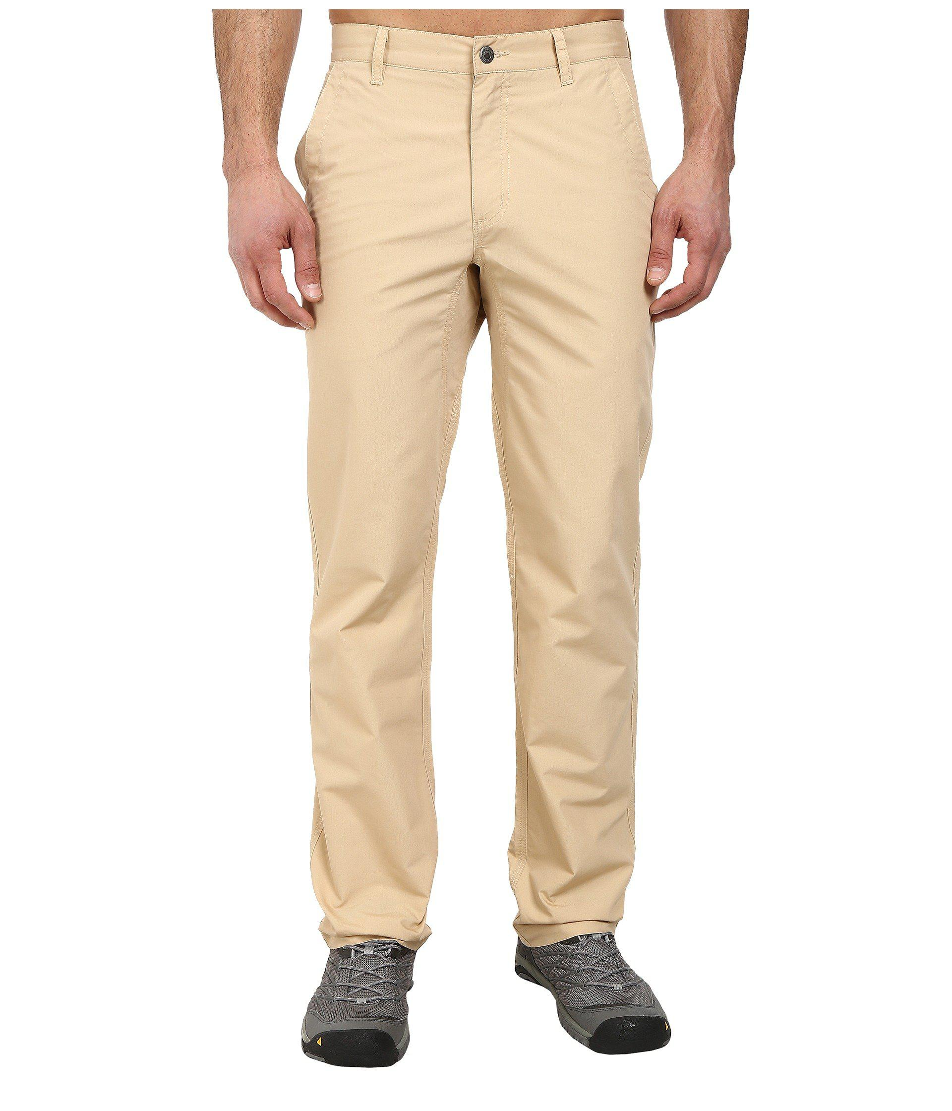 Mountain Khakis. Men's Natural Slim Fit Poplin Pant