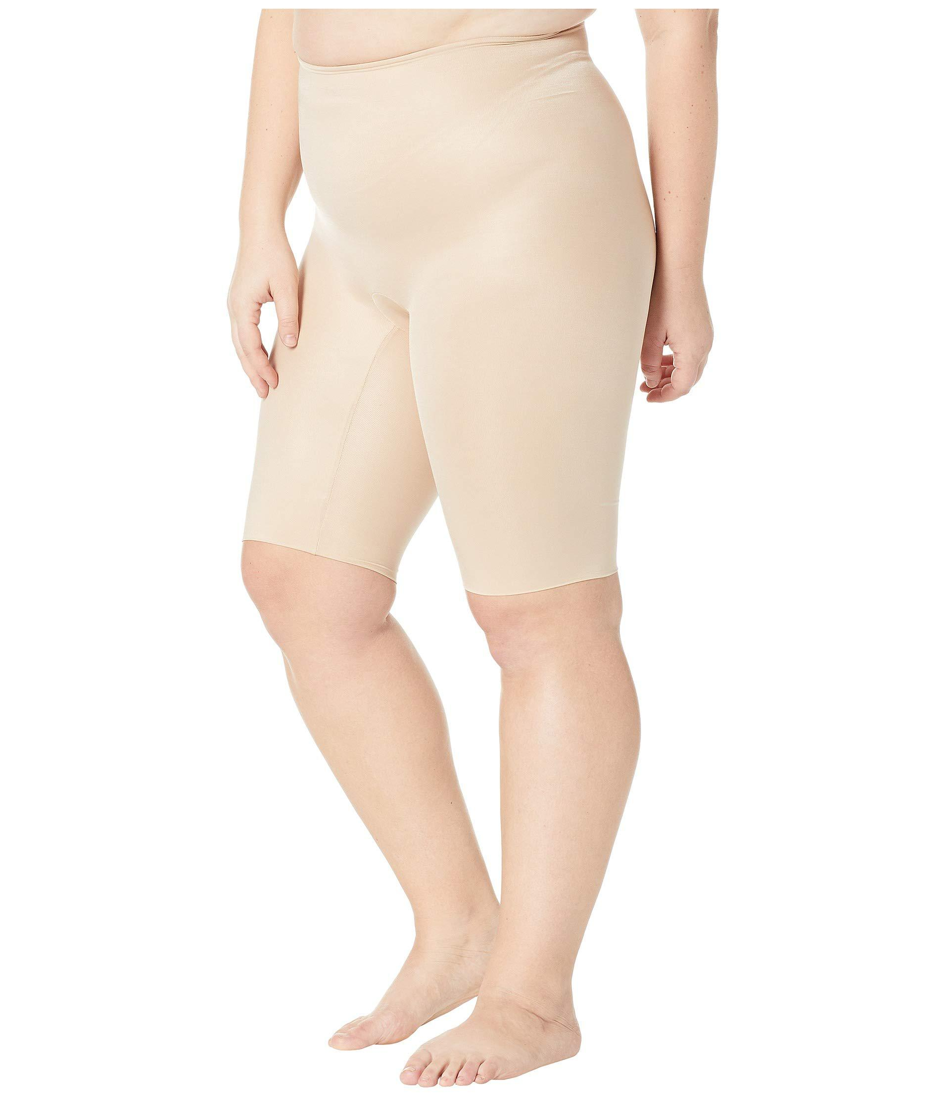 5314404fc7e Lyst - Spanx Plus Size Power Conceal-her Extended Length Shorts (natural  Glam) Women s Underwear in Natural