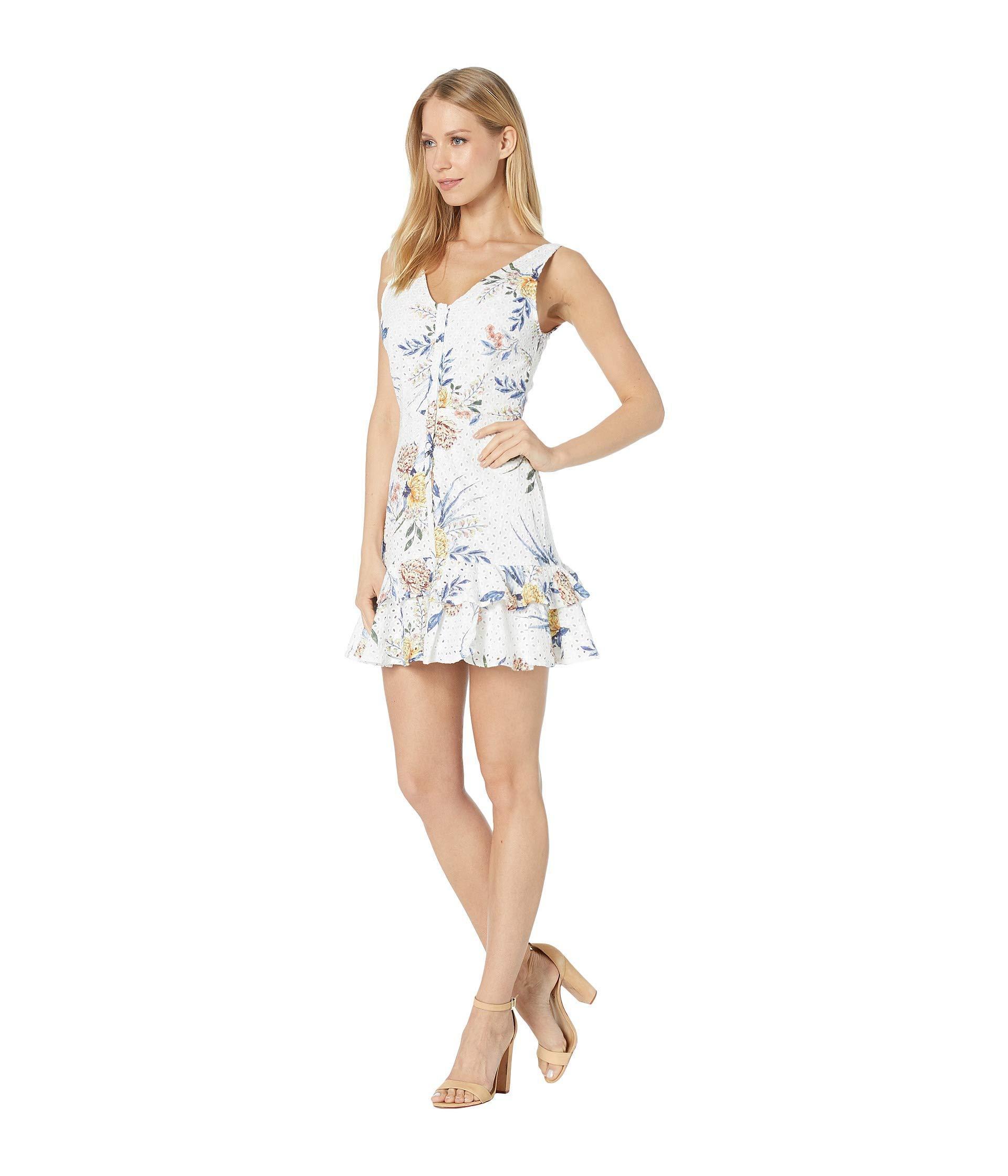 4a875bedcc1 BB Dakota Turn Up The Heat Dress (optic White) Women s Dress in White - Lyst