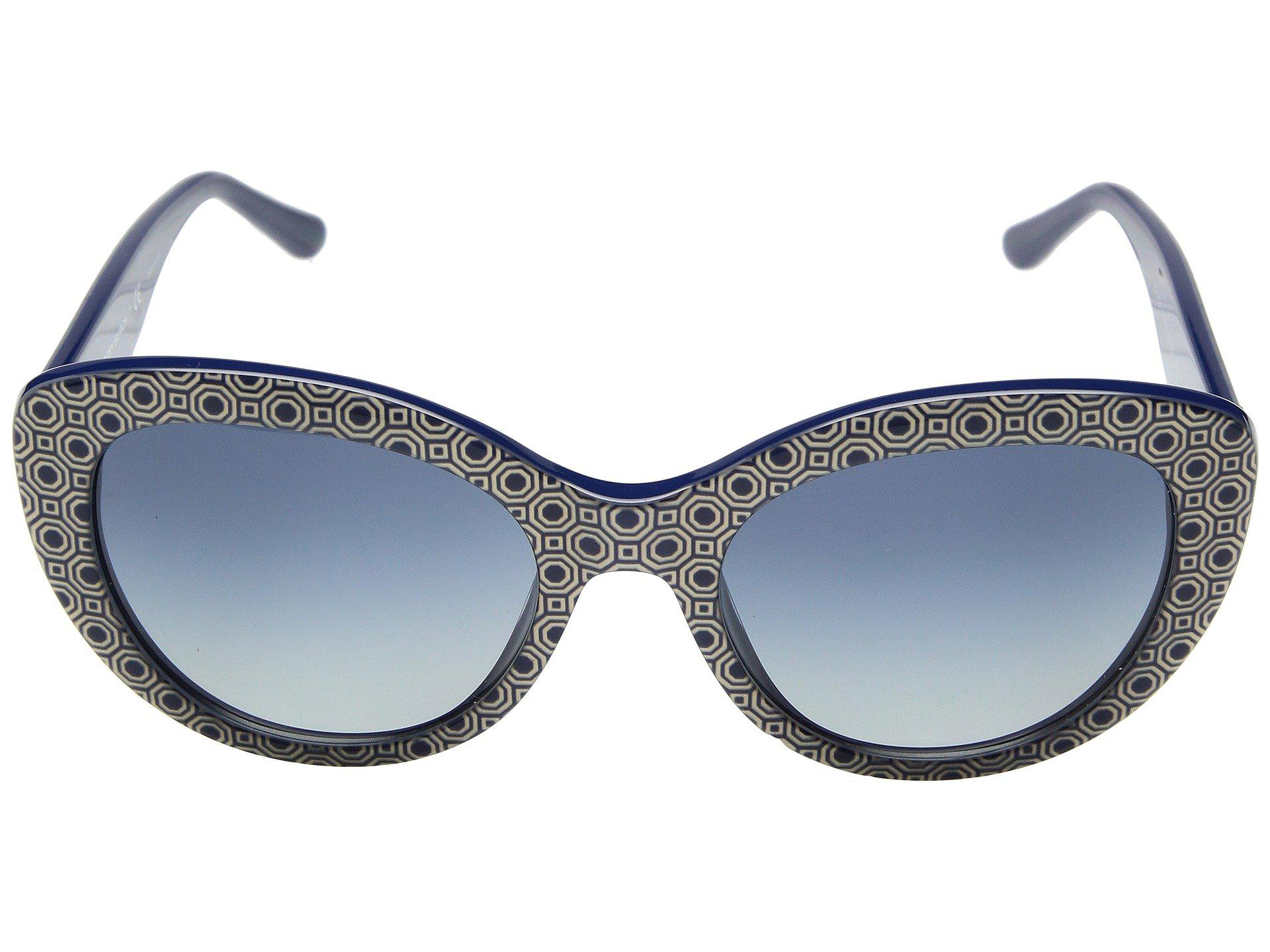 ea4987fdffa6 Tory Burch 0ty7121 55mm (black/grey Gradient) Fashion Sunglasses - Lyst