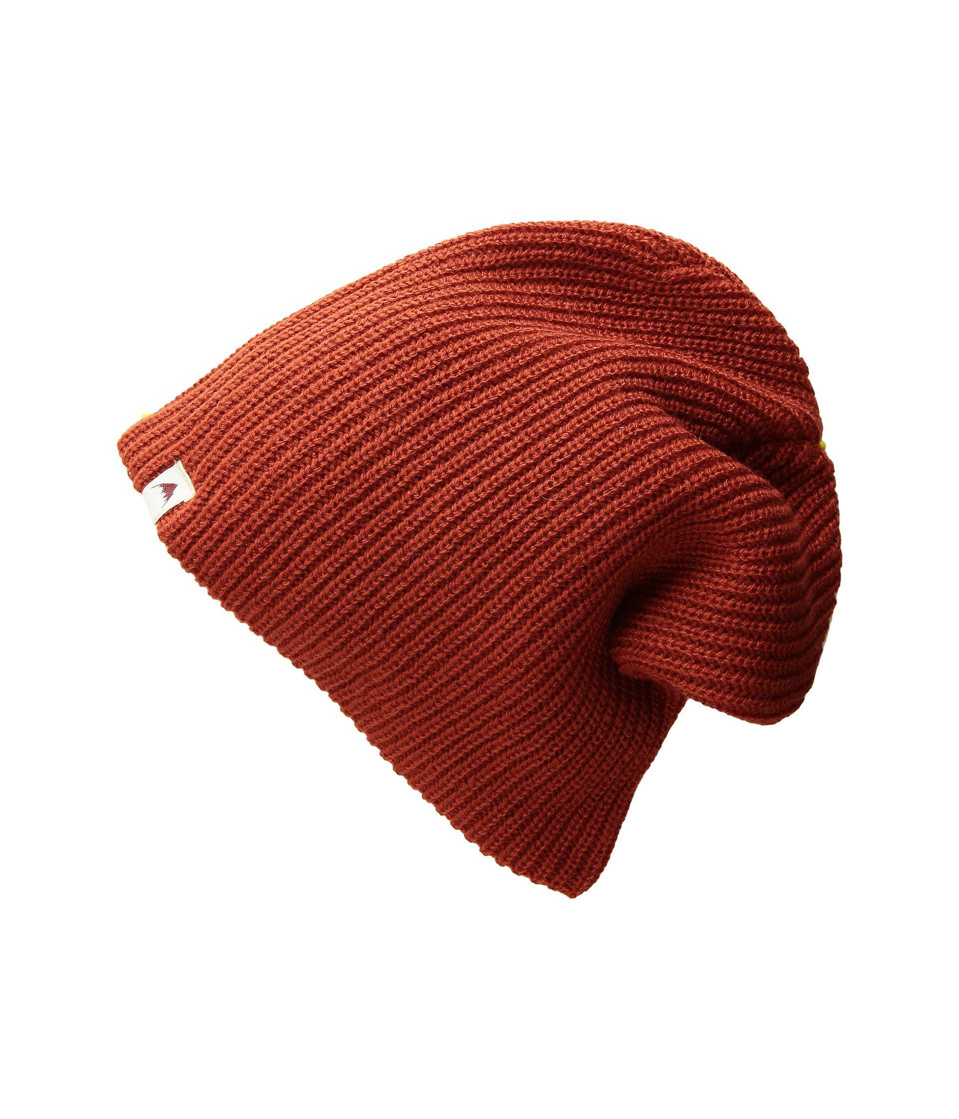 14c05e294cb Lyst - Burton All Day Long Beanie (bitters) Beanies in Red for Men