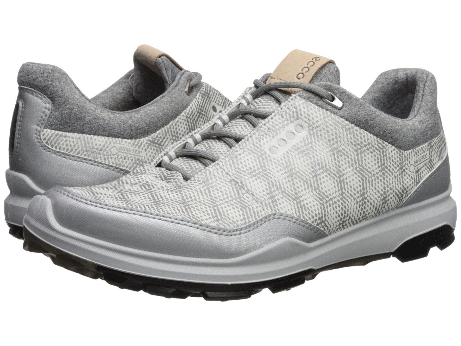 2500dcc34d59e Lyst - Ecco Biom Hybrid 3 Gtx (black/bermuda Blue) Men's Golf Shoes ...