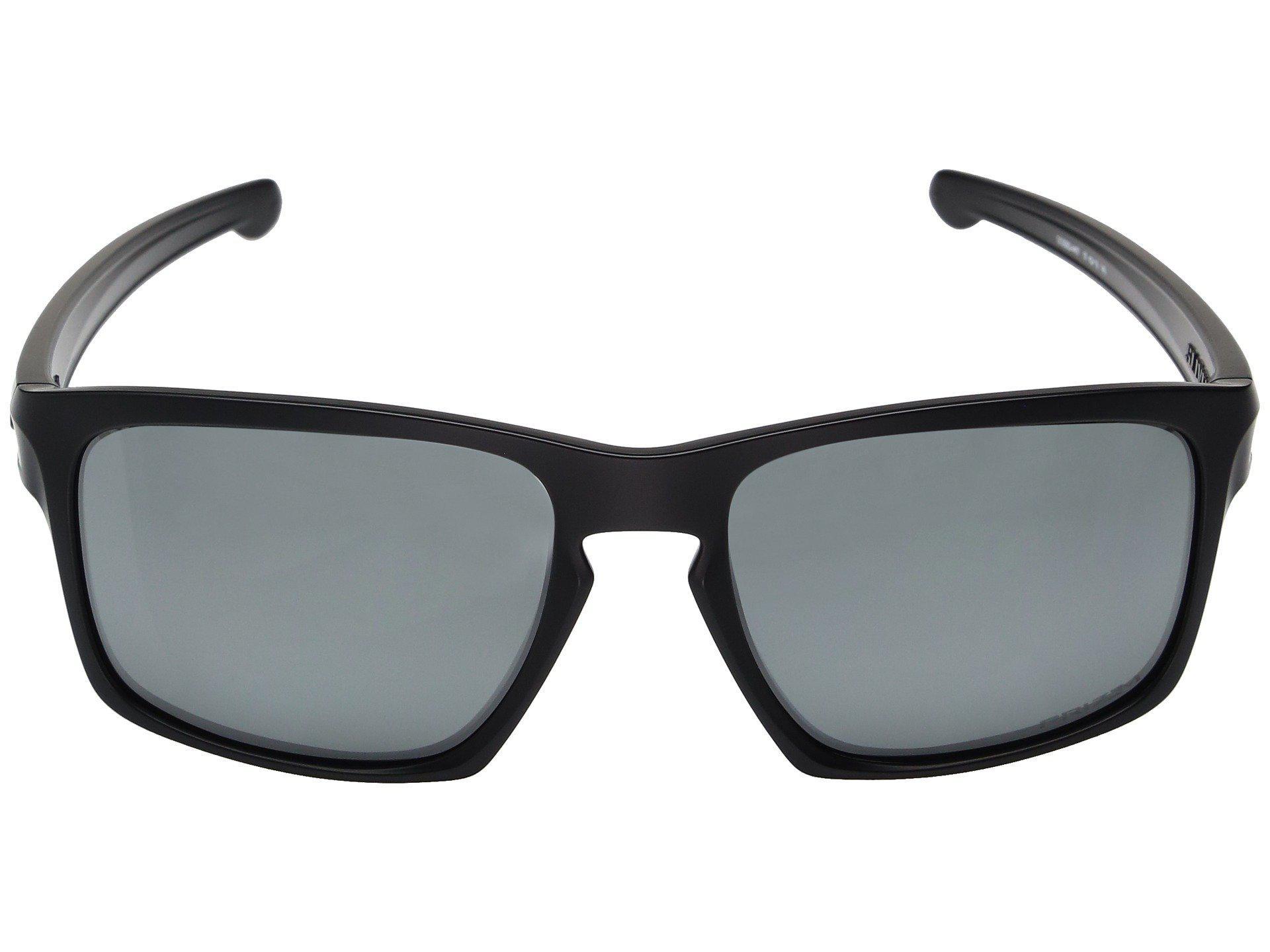 7cecfd3bb1b Oakley - Sliver (matte Black W  Prizm Black Polarized) Fashion Sunglasses  for Men. View fullscreen
