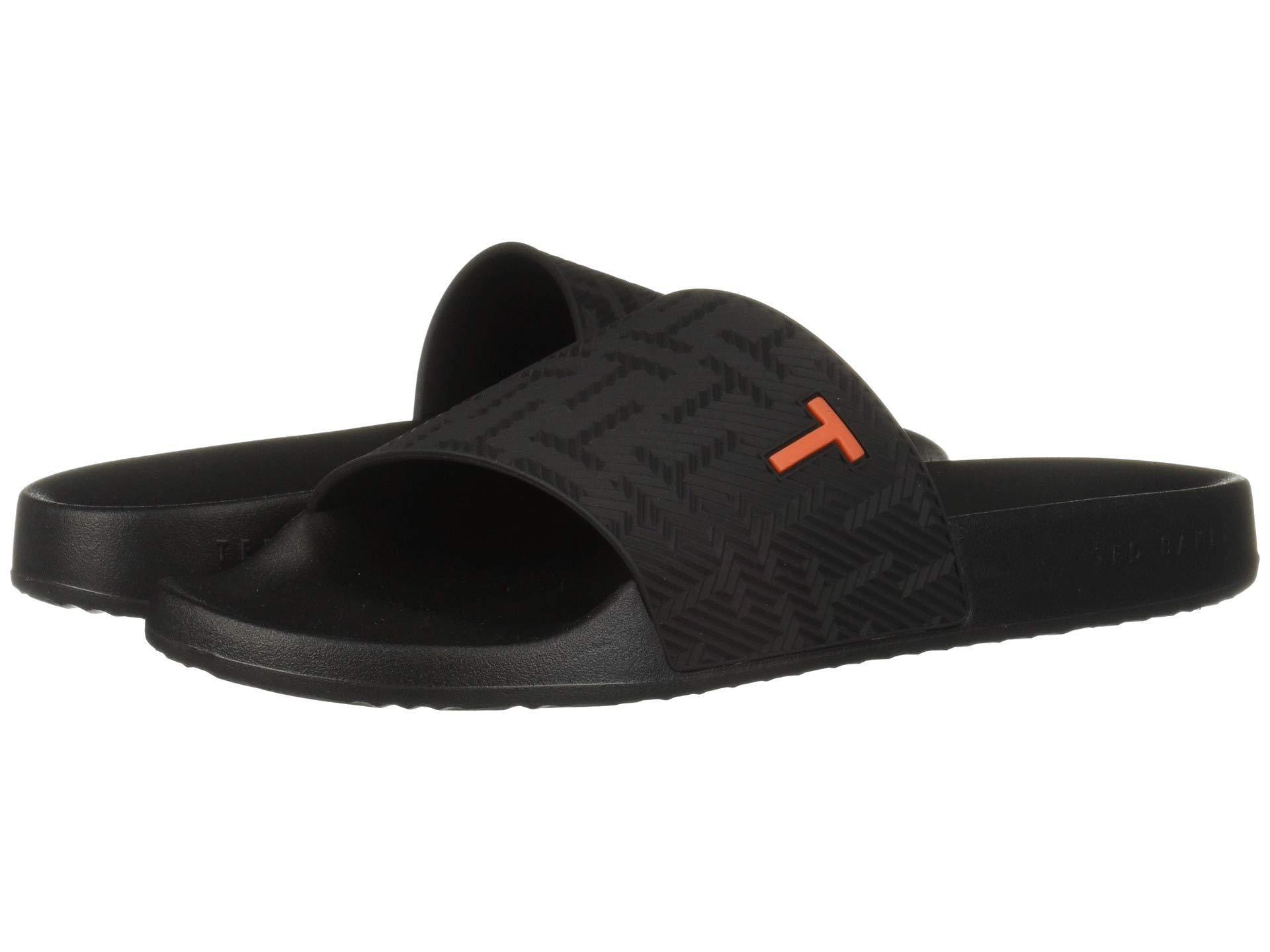 1b924dcd9 Lyst - Ted Baker Mastal (black) Men s Sandals in Black for Men