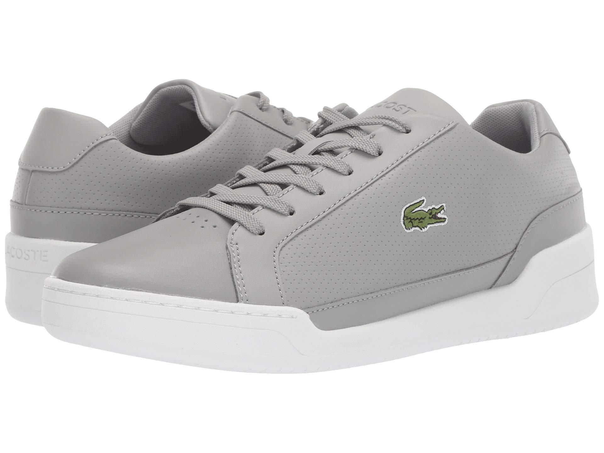 64e21a8eb Lyst - Lacoste Challenge 119 2 Sma (grey white) Men s Shoes in Gray ...