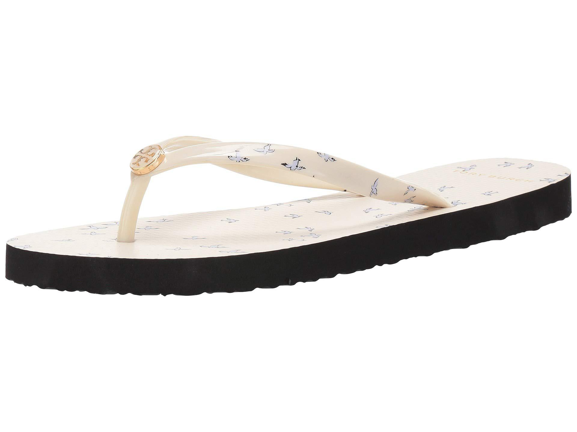 9f311abcd Tory Burch - White Printed Thin Flip-flop (mint Early Bird) Women s  Sandals. View fullscreen
