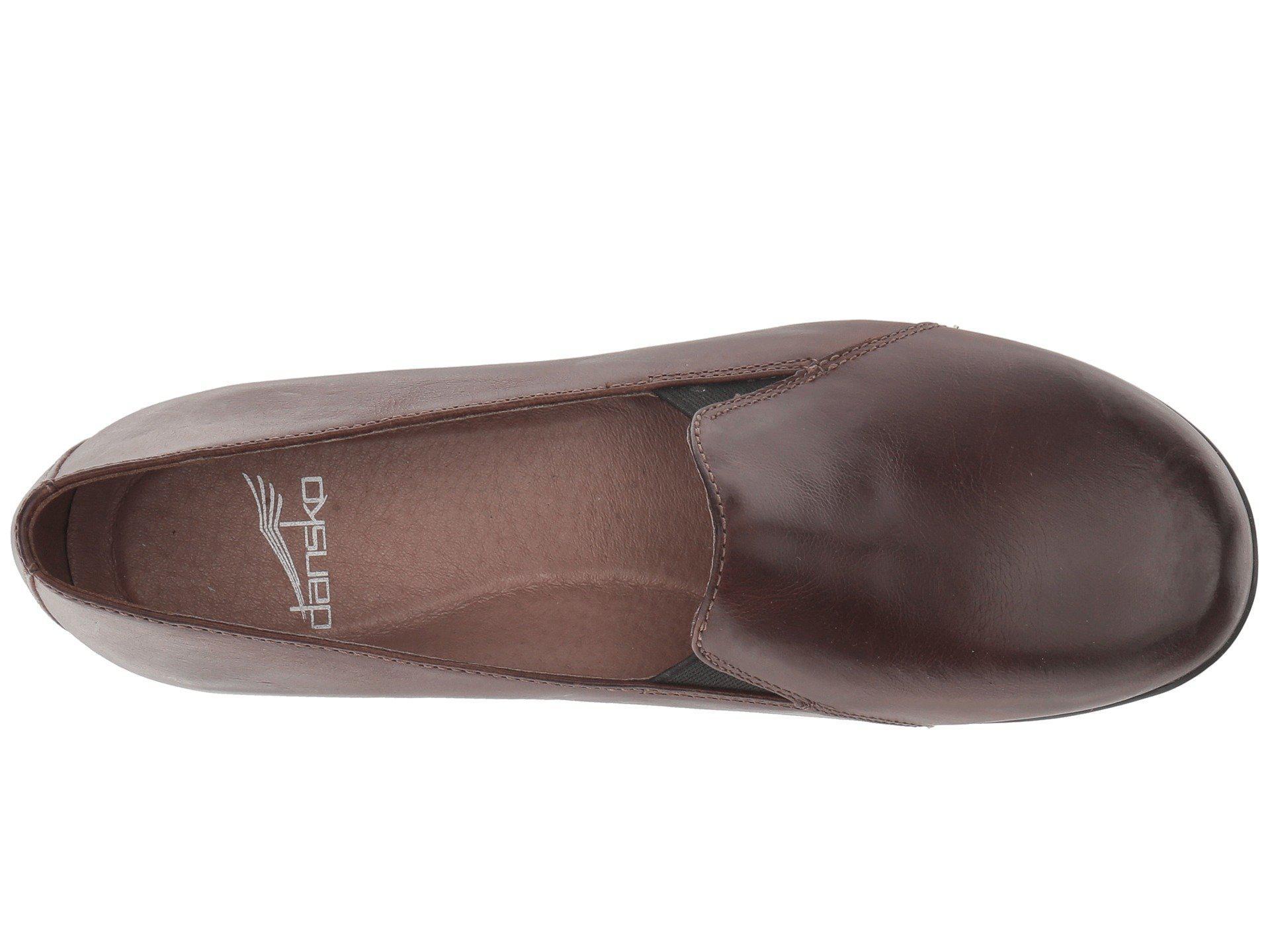 f3993603478 Dansko - Brown Farah (black Milled Nappa) Women s Shoes - Lyst. View  fullscreen