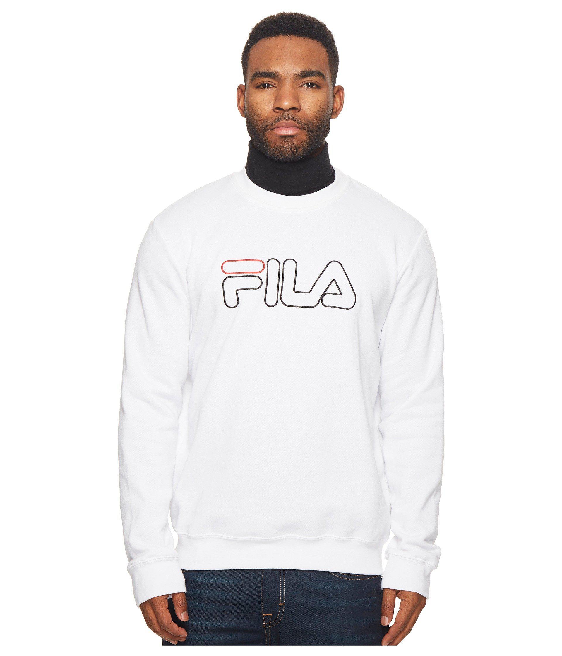 3a1c7aa855 Fila Harlem Crew (black/white/red) Men's Clothing for men