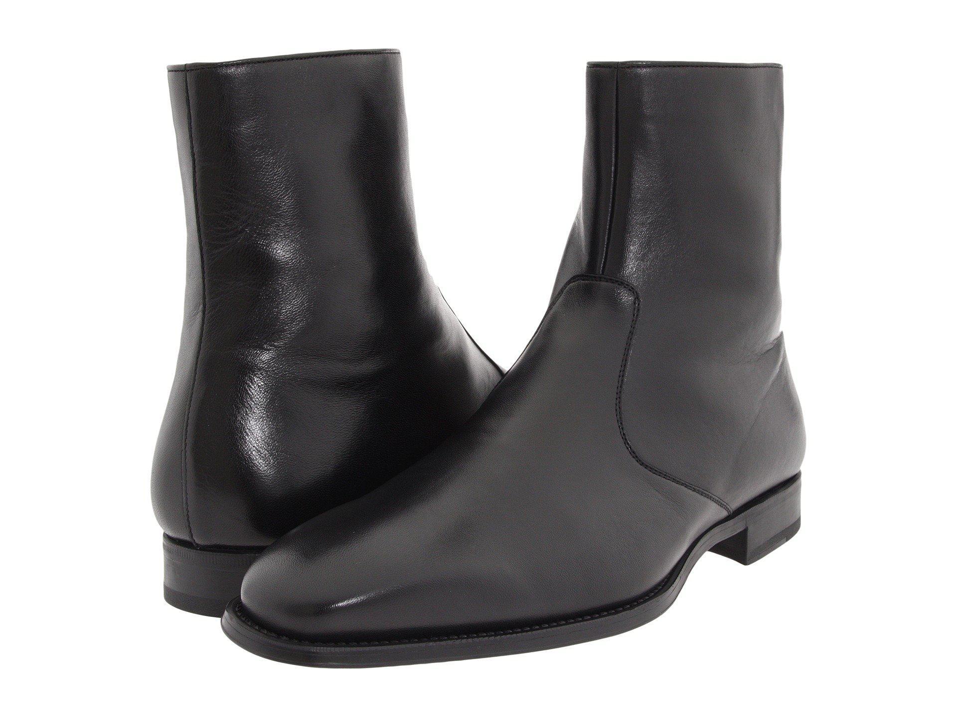 moda atractiva super popular últimos diseños diversificados Magnanni Leather Donosti in Black for Men - Lyst