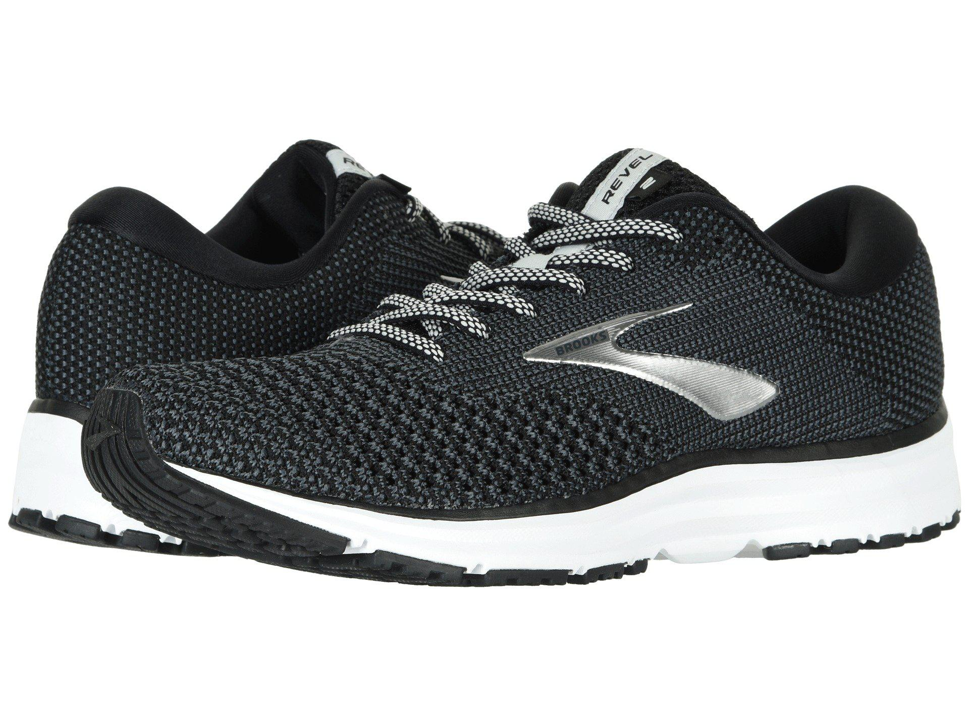 3428a2c38cb Brooks - Gray Revel 2 (grey white arctic Dusk) Women s Running Shoes. View  fullscreen