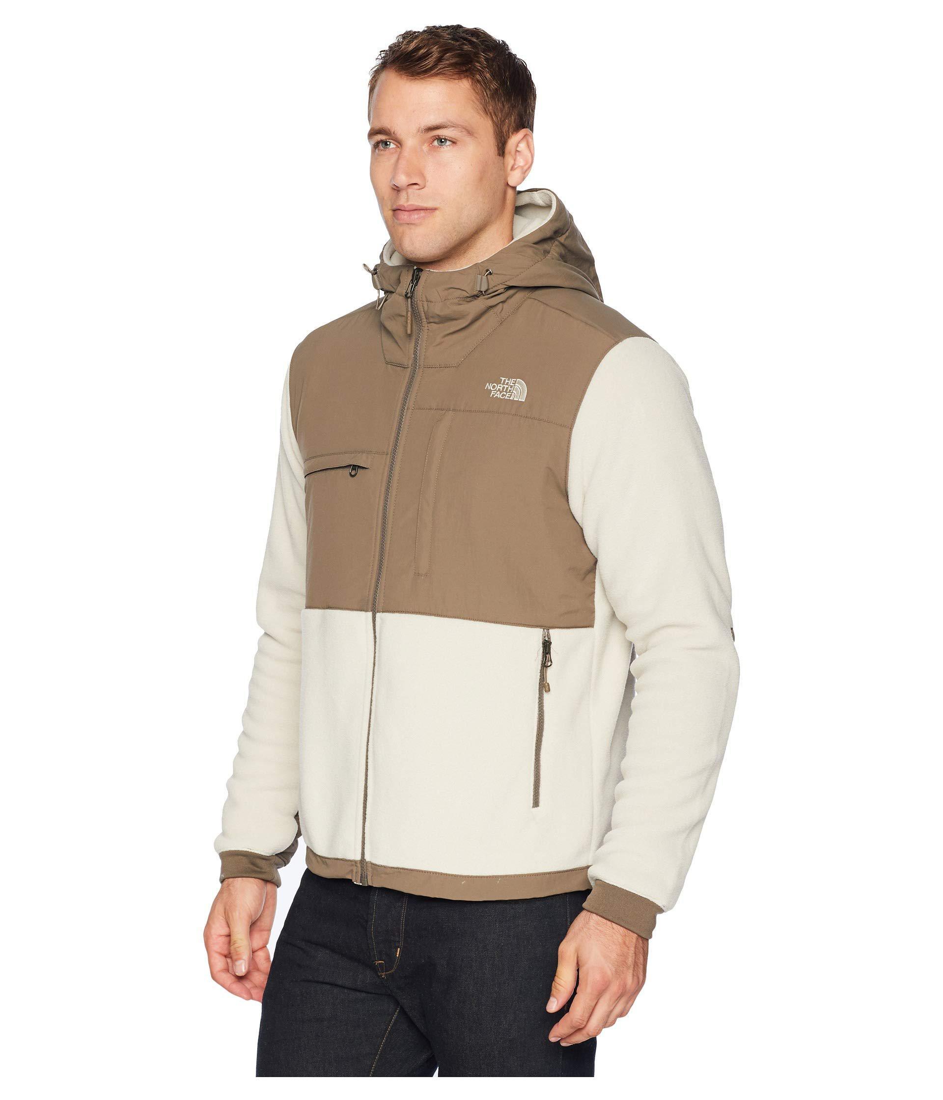 9e9cc8d03 The North Face Natural Denali 2 Hoodie (peyote Beige/weimaraner Brown 1)  Men's Sweatshirt for men
