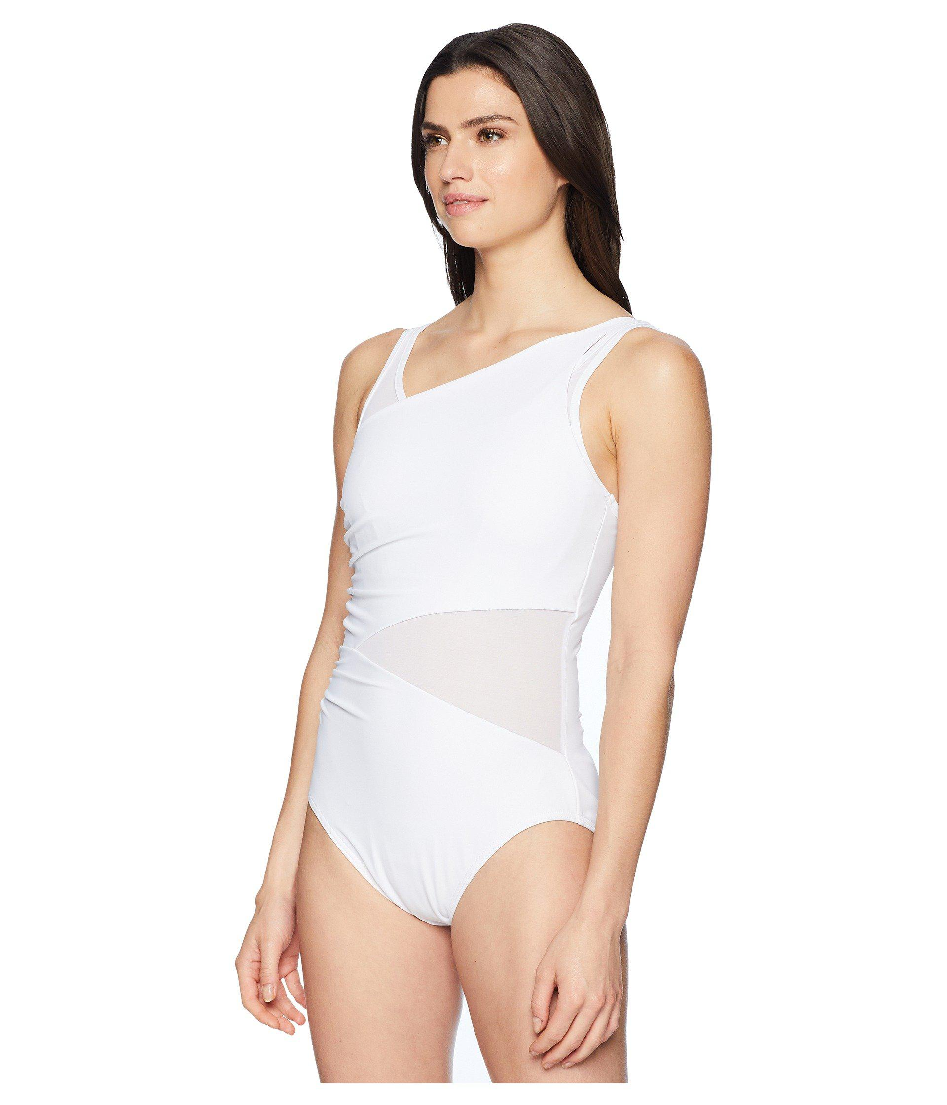 d30f280082f91 Lyst - Miraclesuit Illusionist Azura One-piece in White