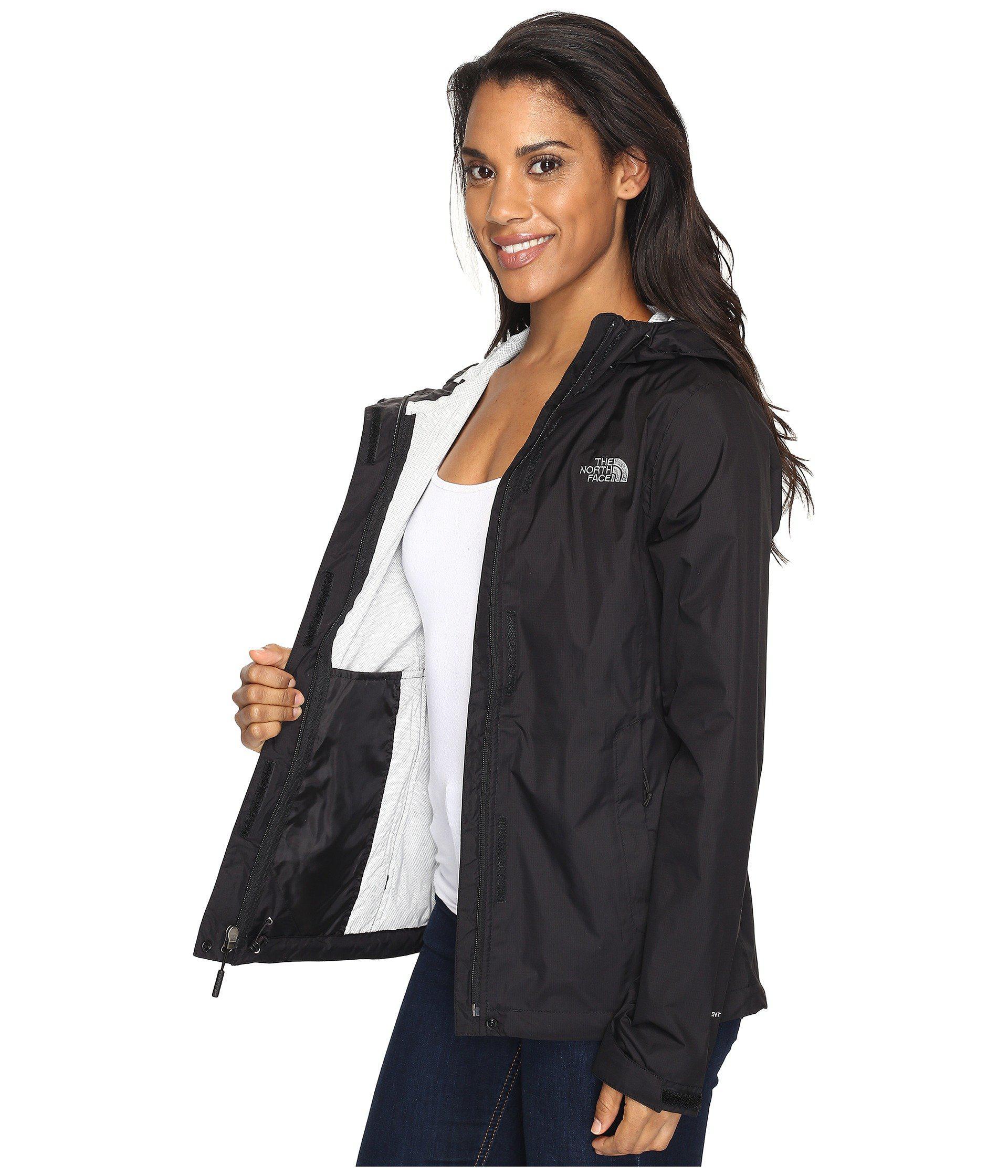 04f5754f8cf6 order the north face black venture 2 jacket fig heather womens coat lyst.  view fullscreen