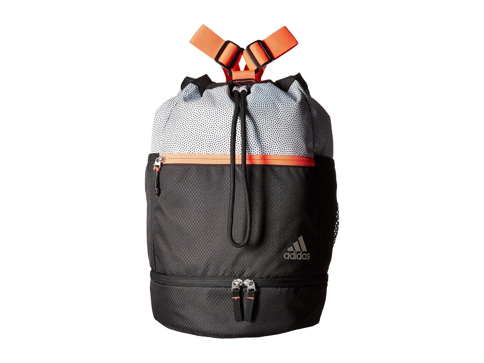 Adidas - Squad Bucket Backpack (white Grip black lucid Red) Backpack Bags.  View fullscreen d1e1e0024f3d8